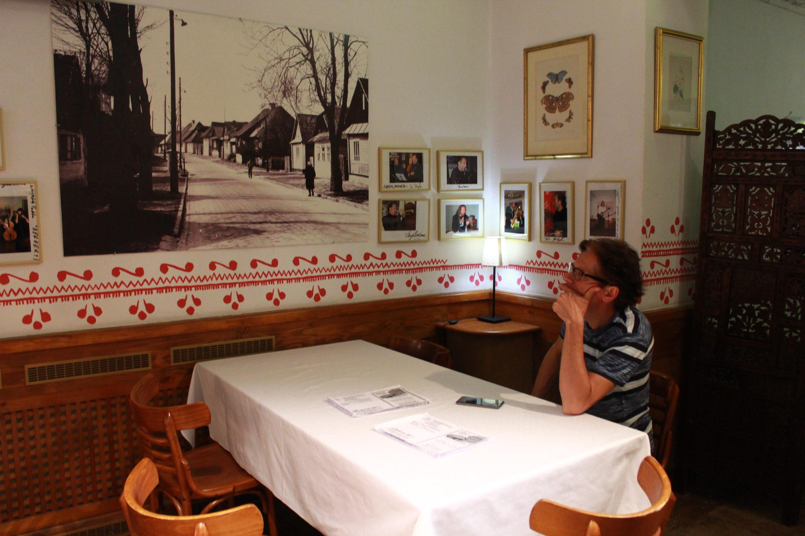obraz w restauracji