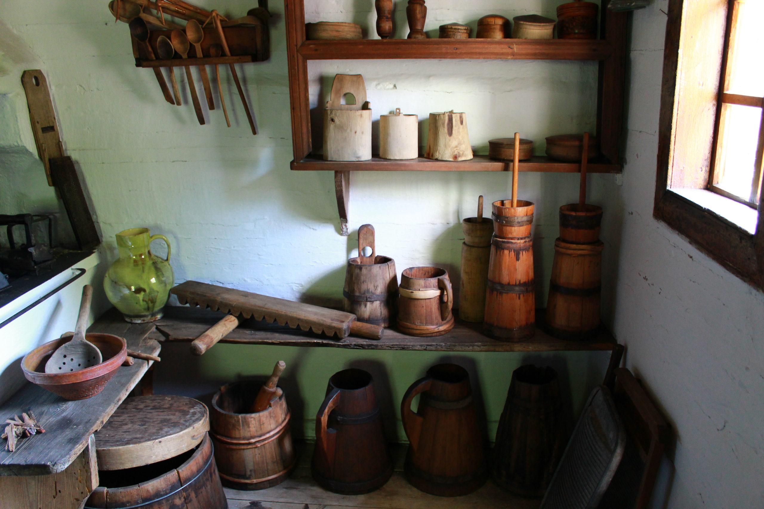 starodawne przedmioty gospodarskie