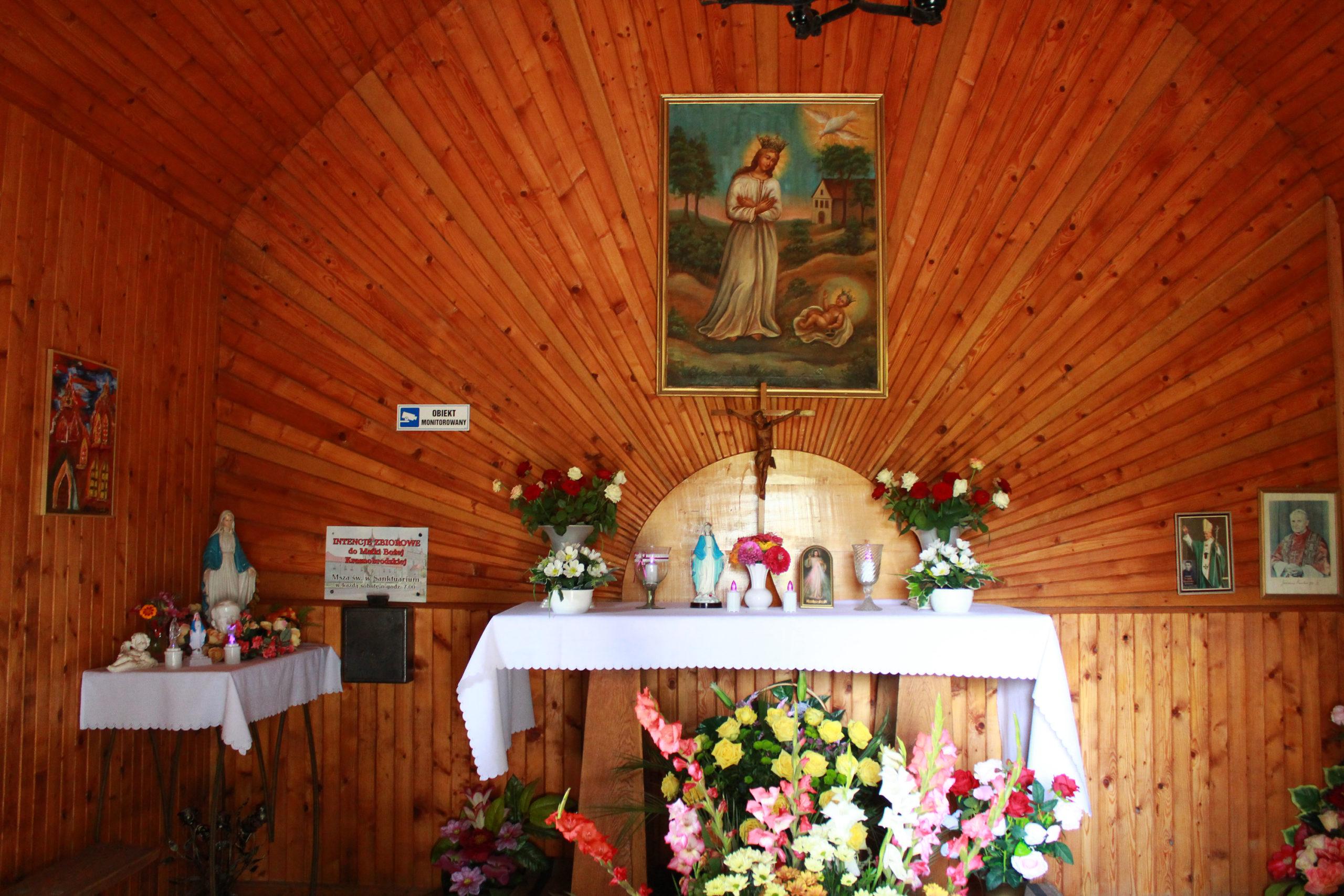 wnętrze kaplicy