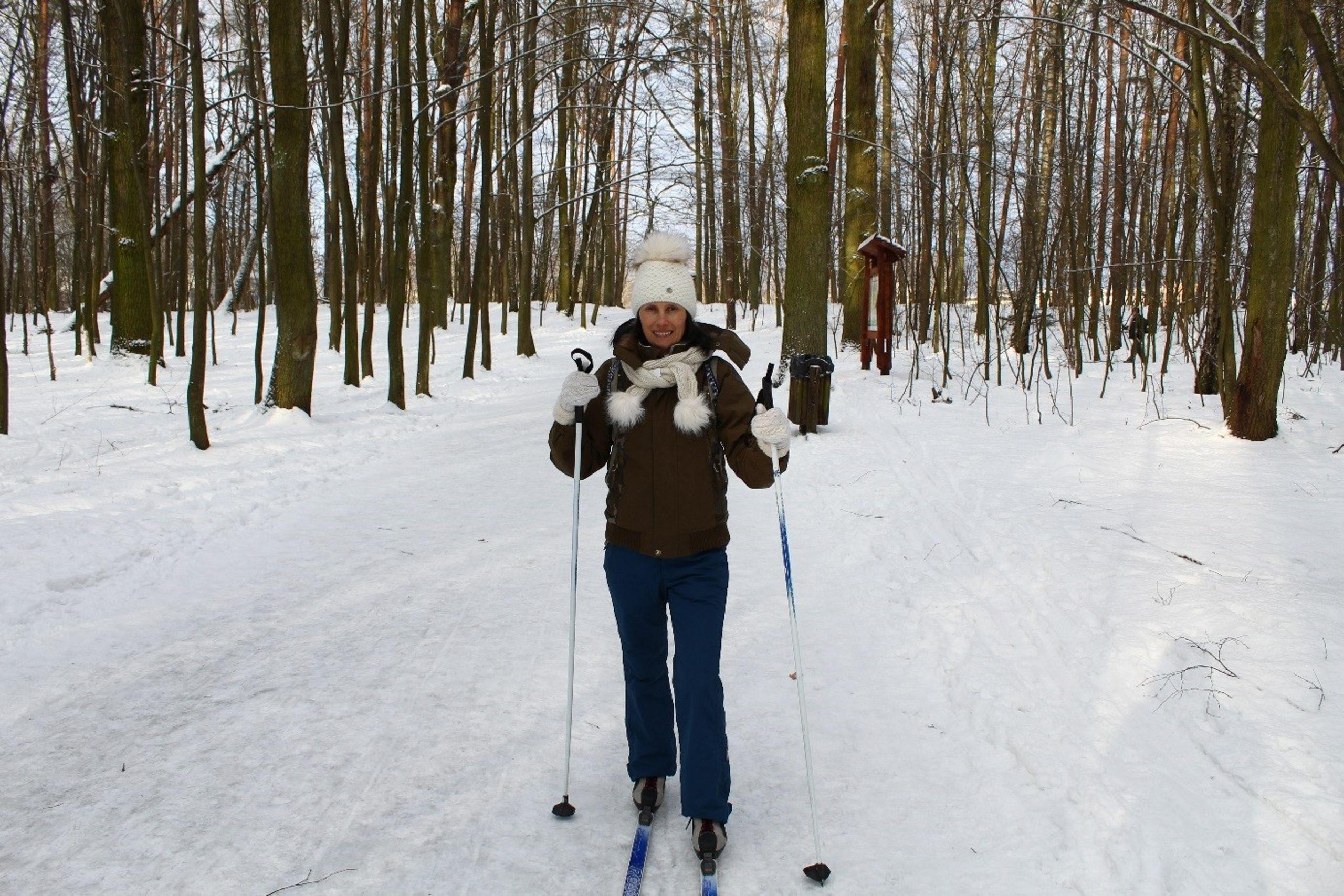 Viola na nartach biegowych