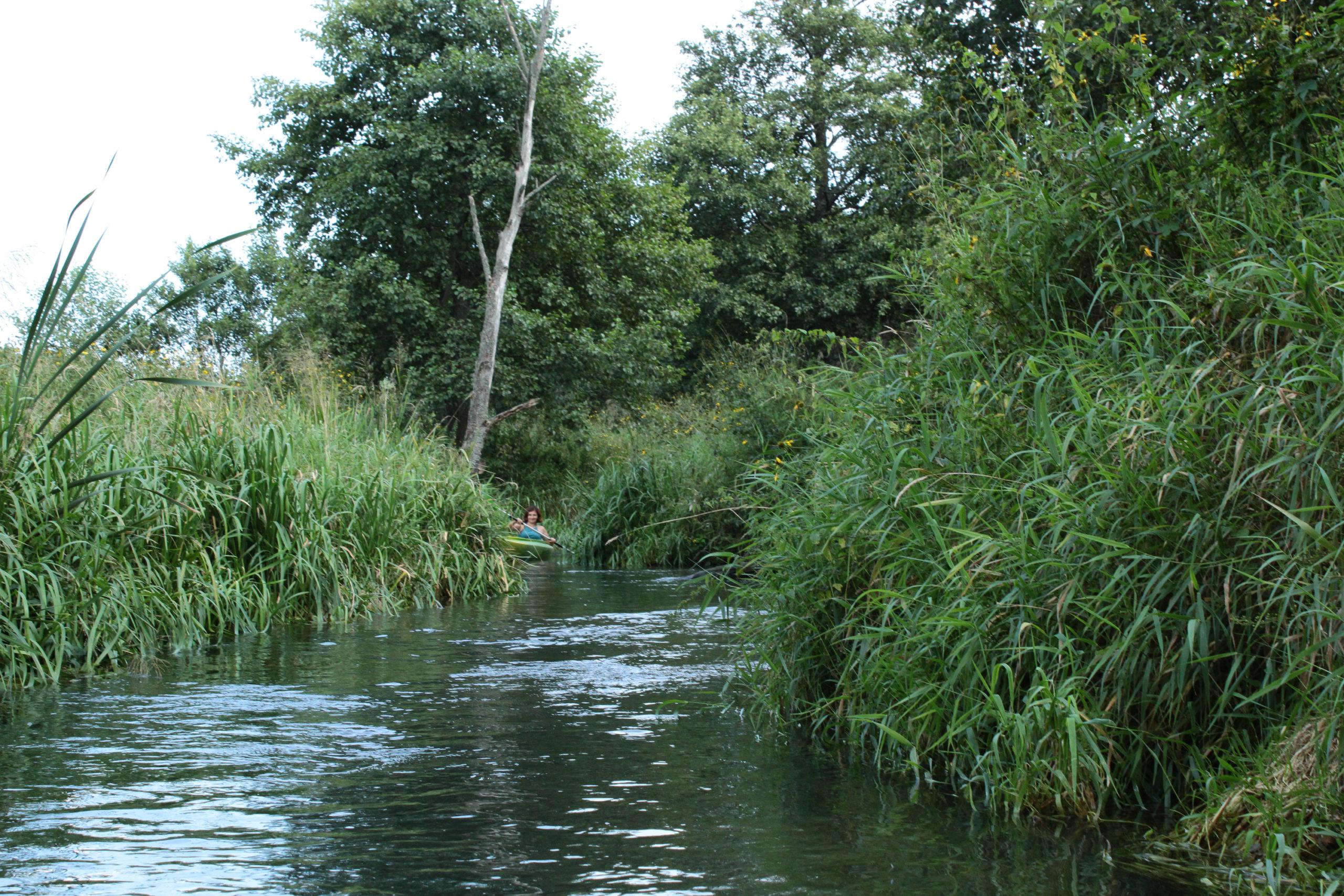 Rzeka i Kajak