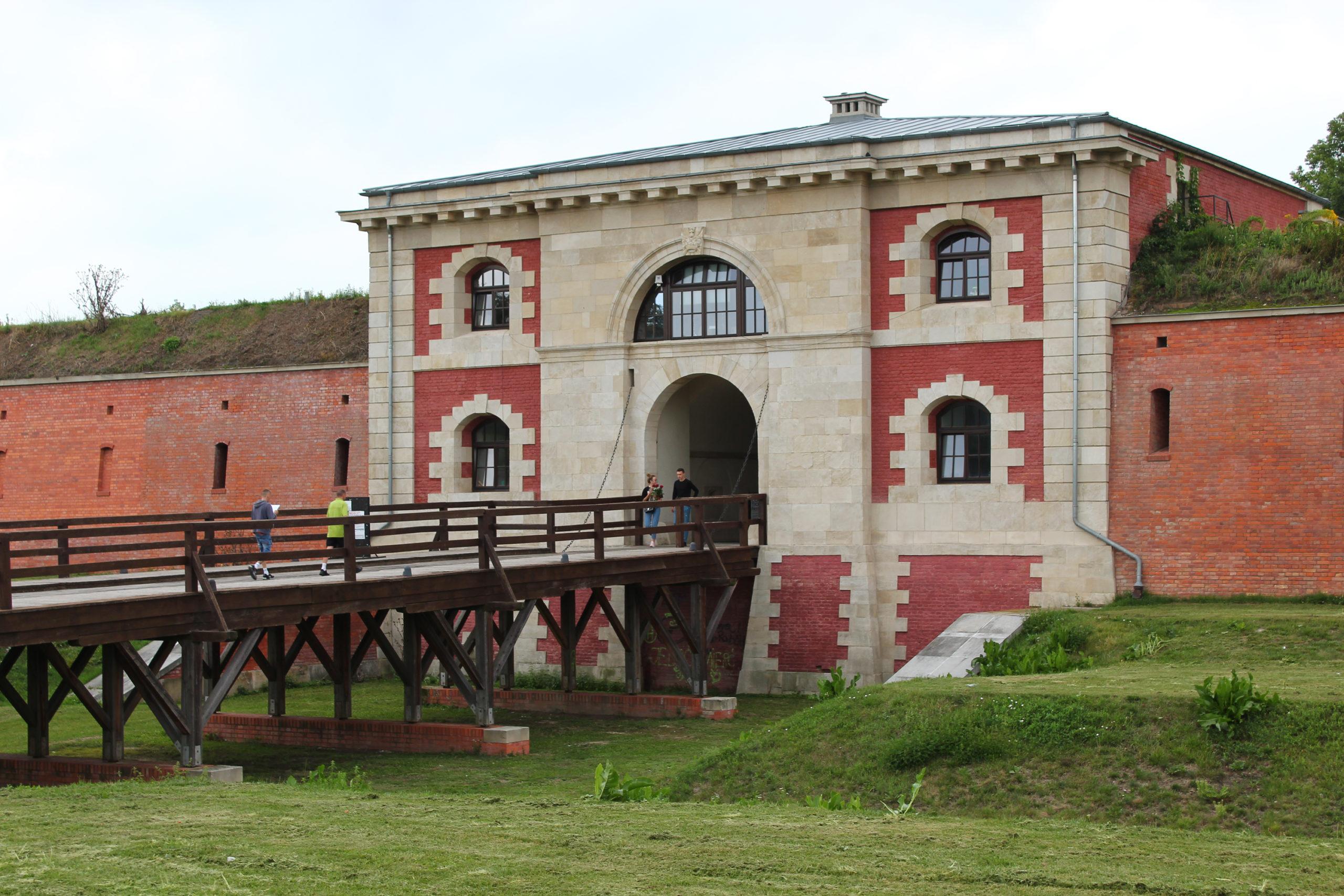 Wejście do fortyfikacji