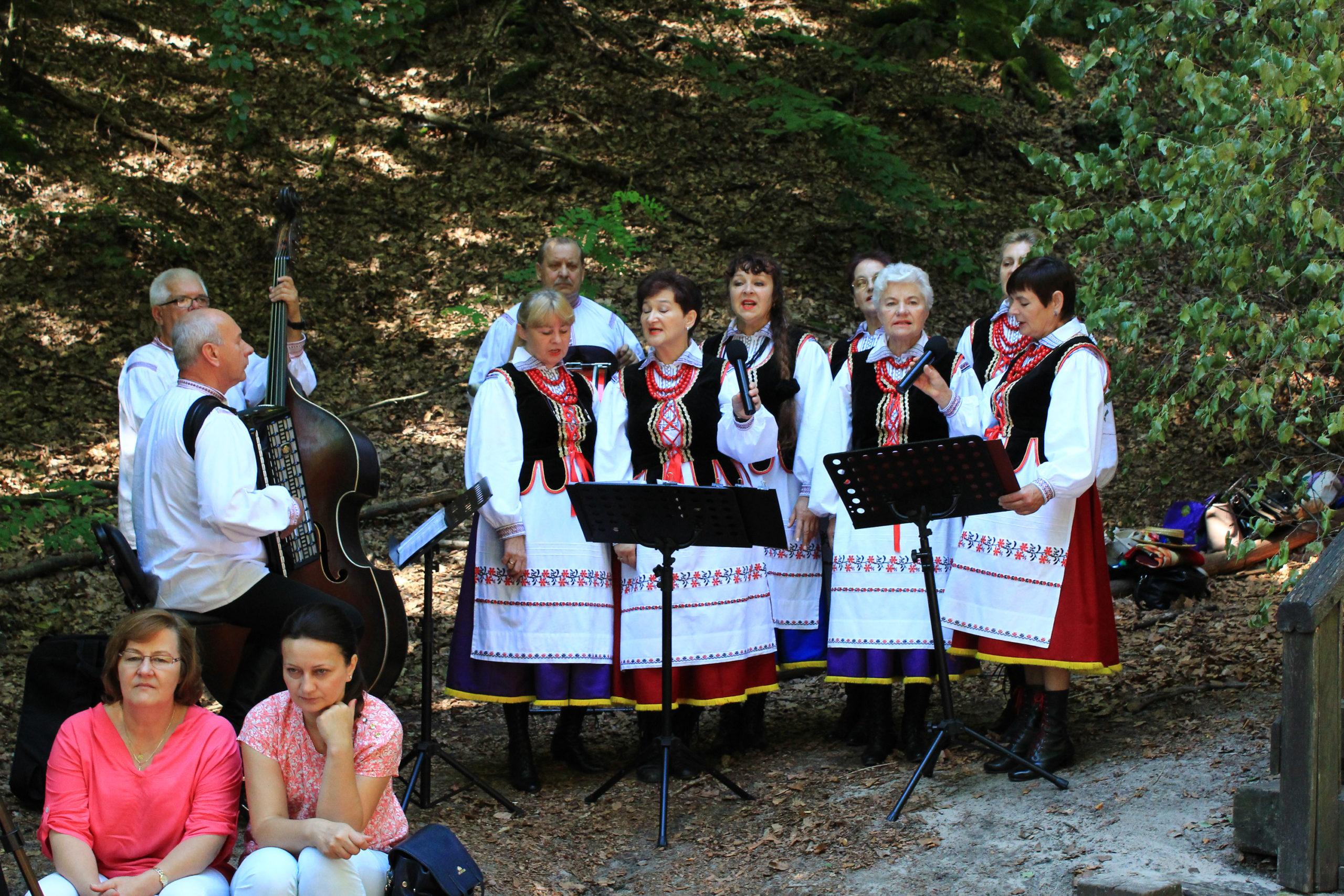 Regionalny zespół śpiewa