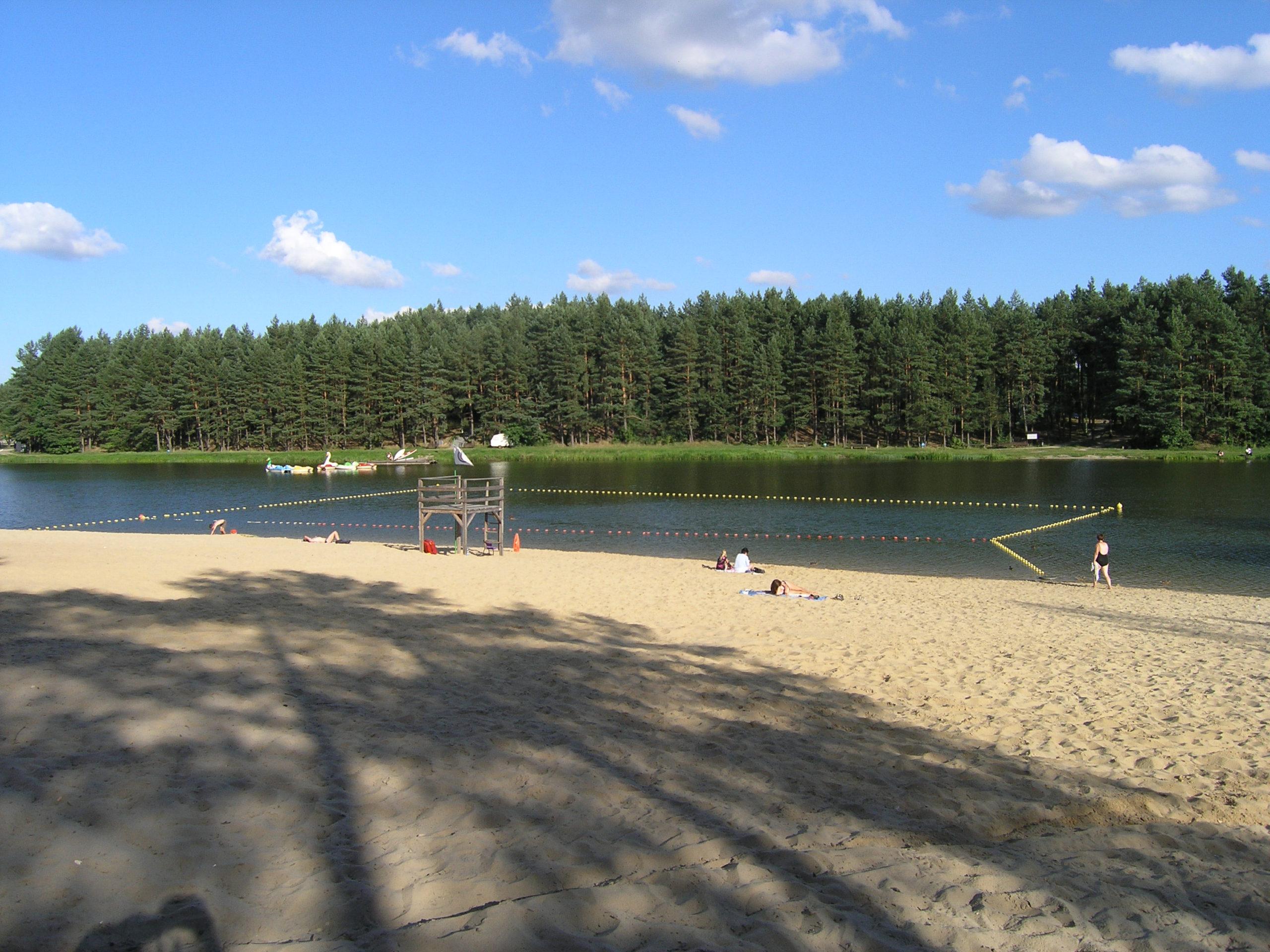 Plaża i wydzielone Kąpielisko