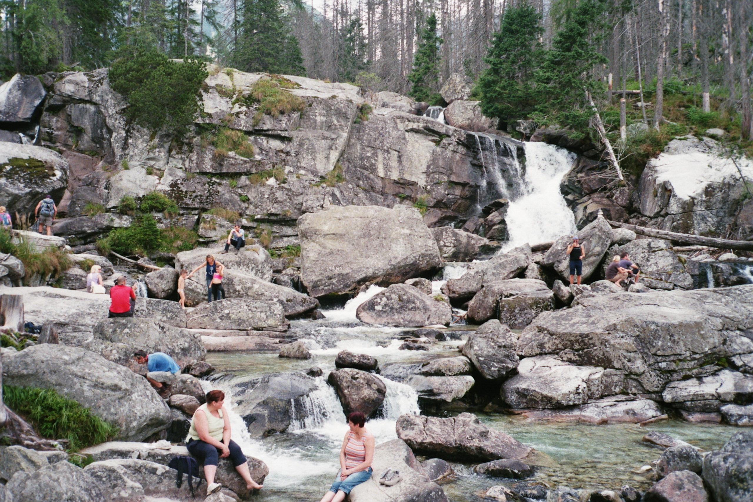 wodospady w tatrach