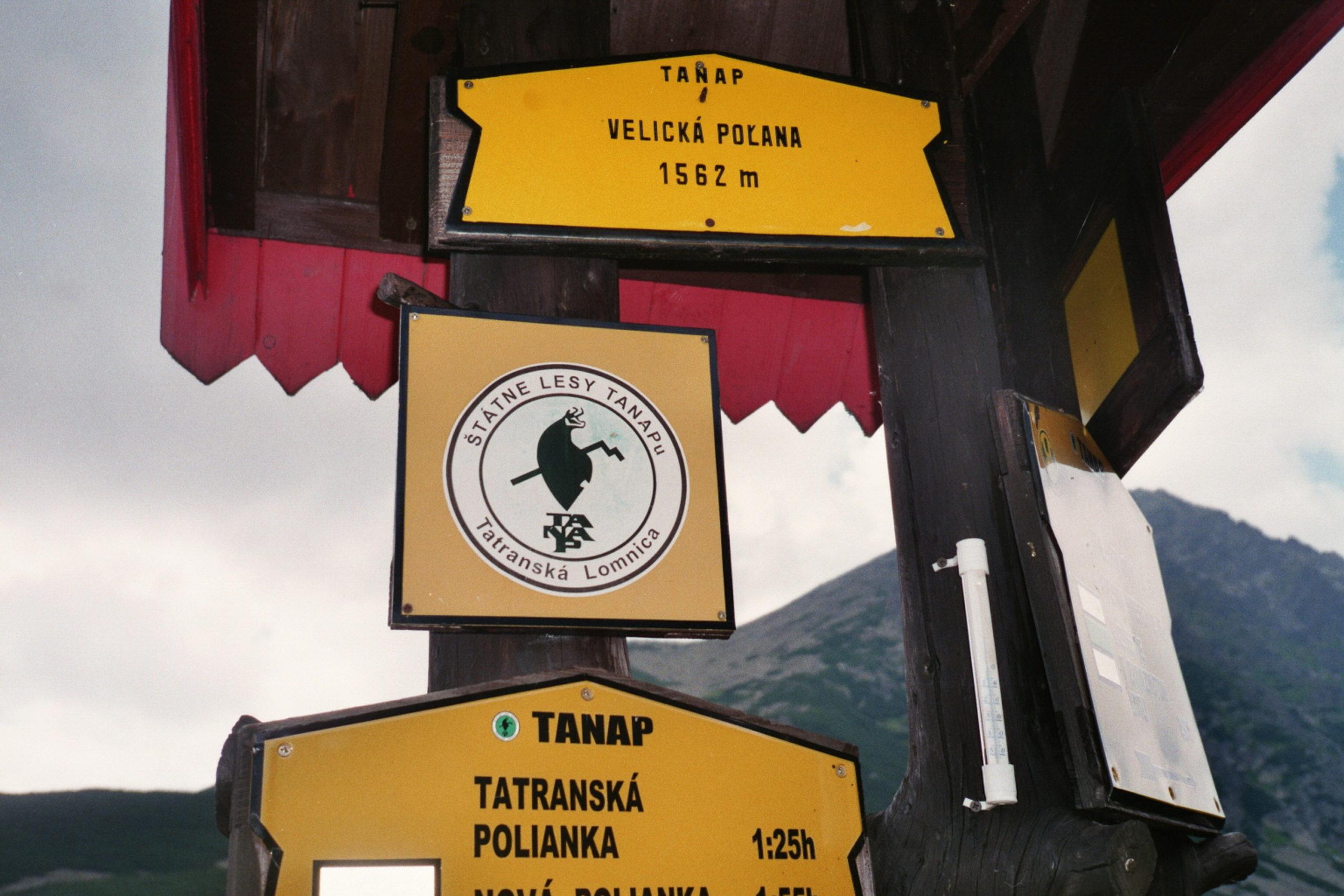 znak w tatrach