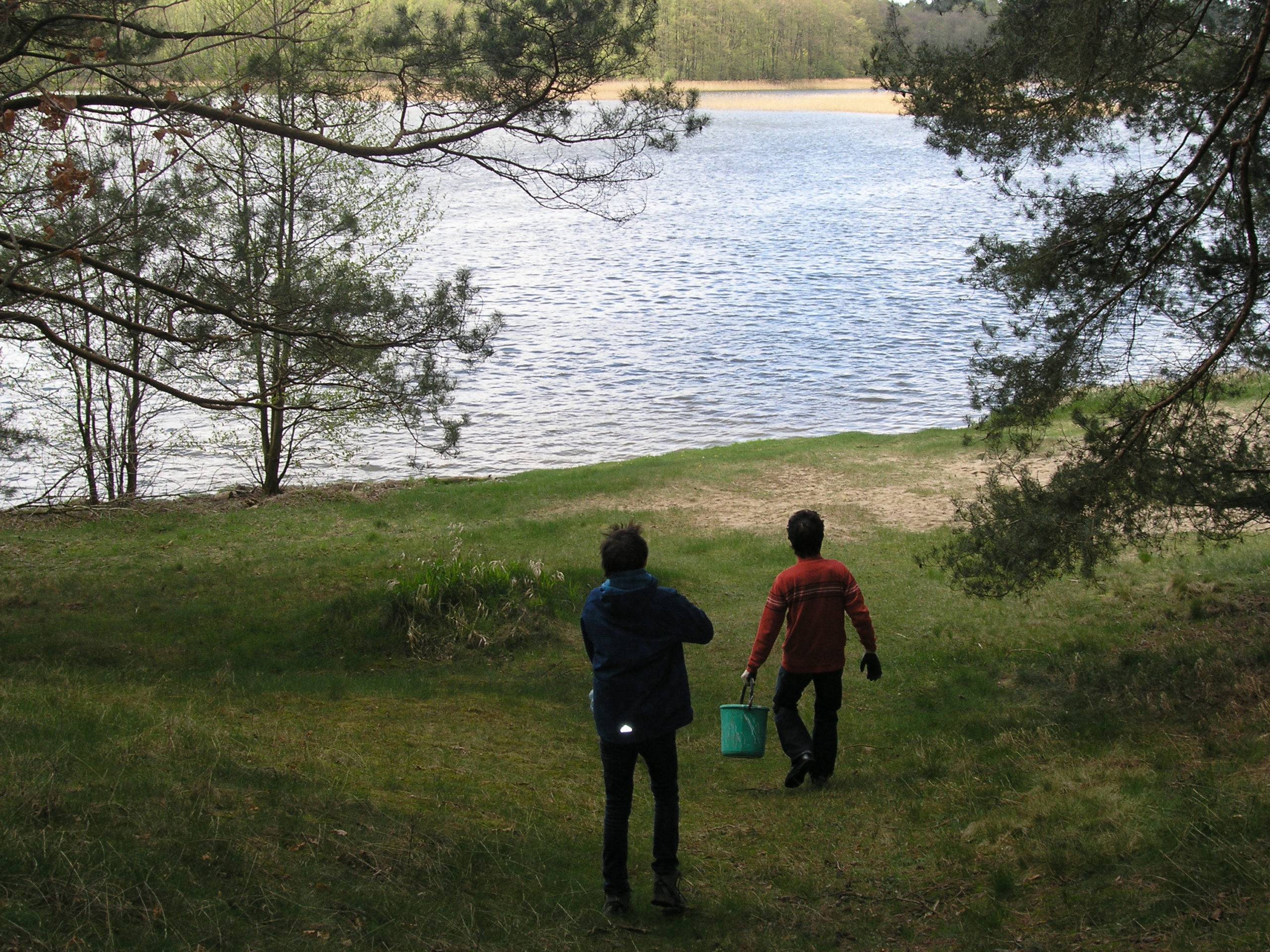 Spacer nad wodę