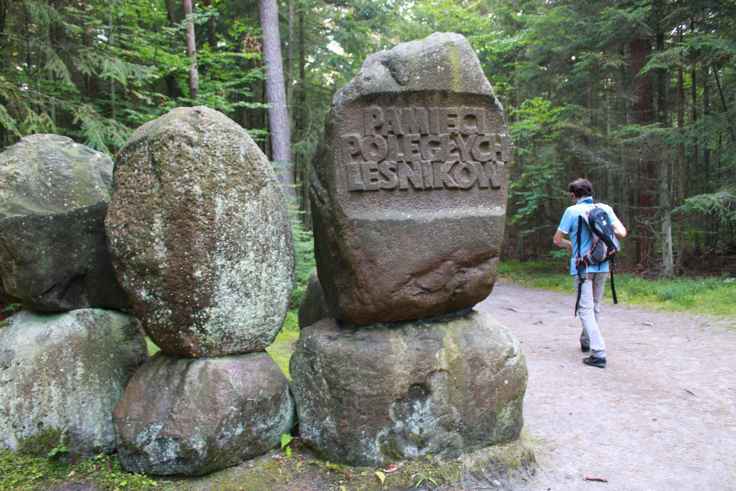 pomnik pamięci leśników