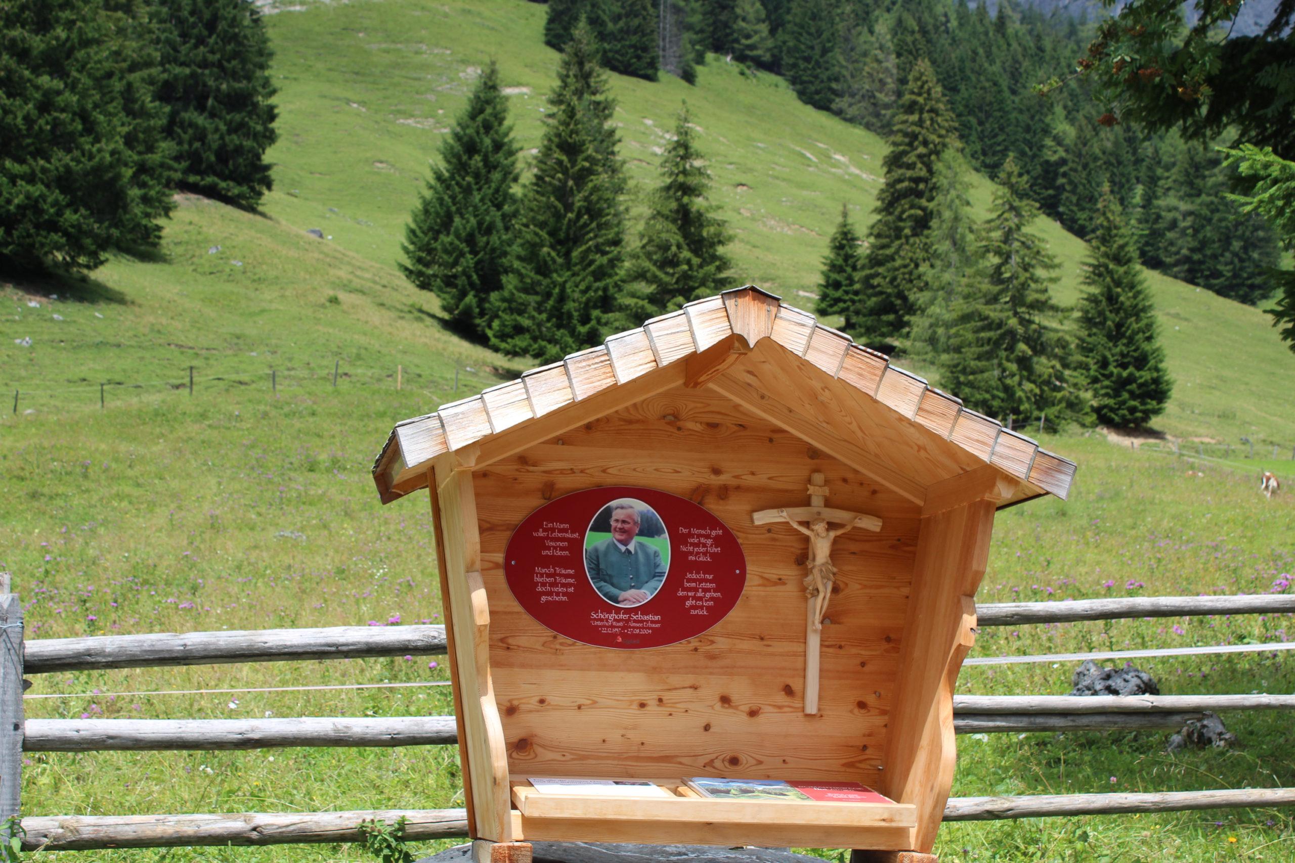 Kapliczka w górach