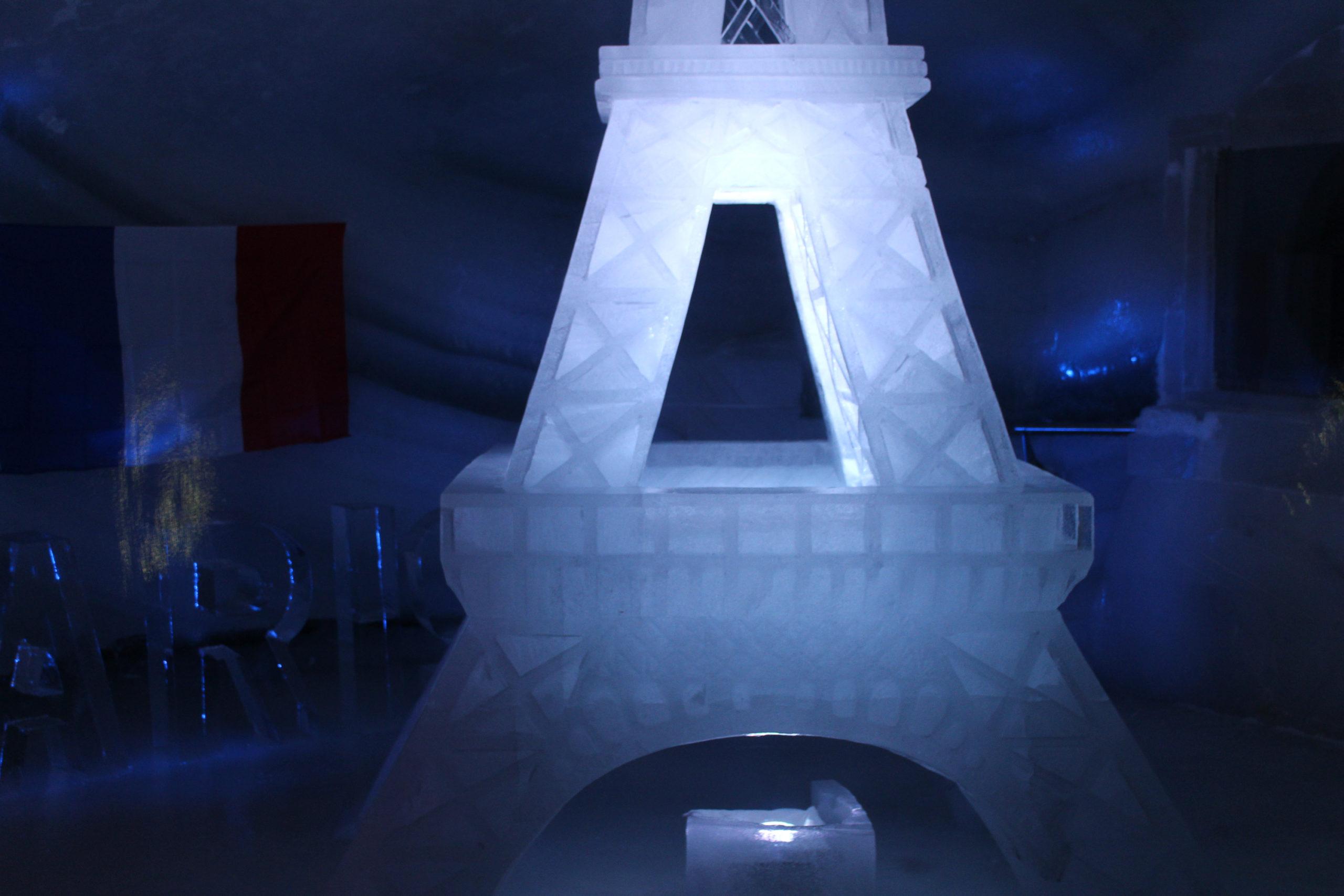 lodowa Wierza eiffla