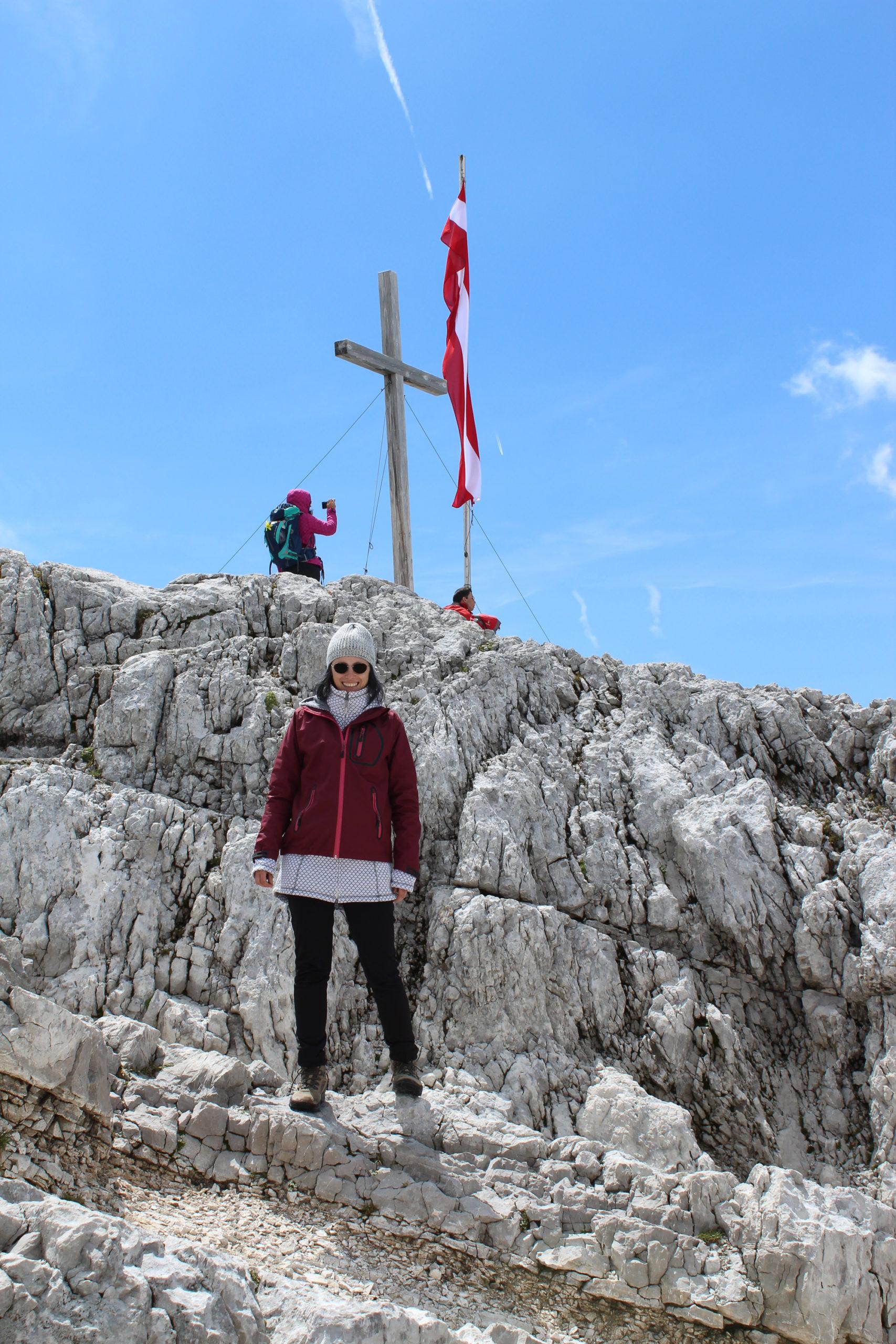 Viola na szczycie górskim