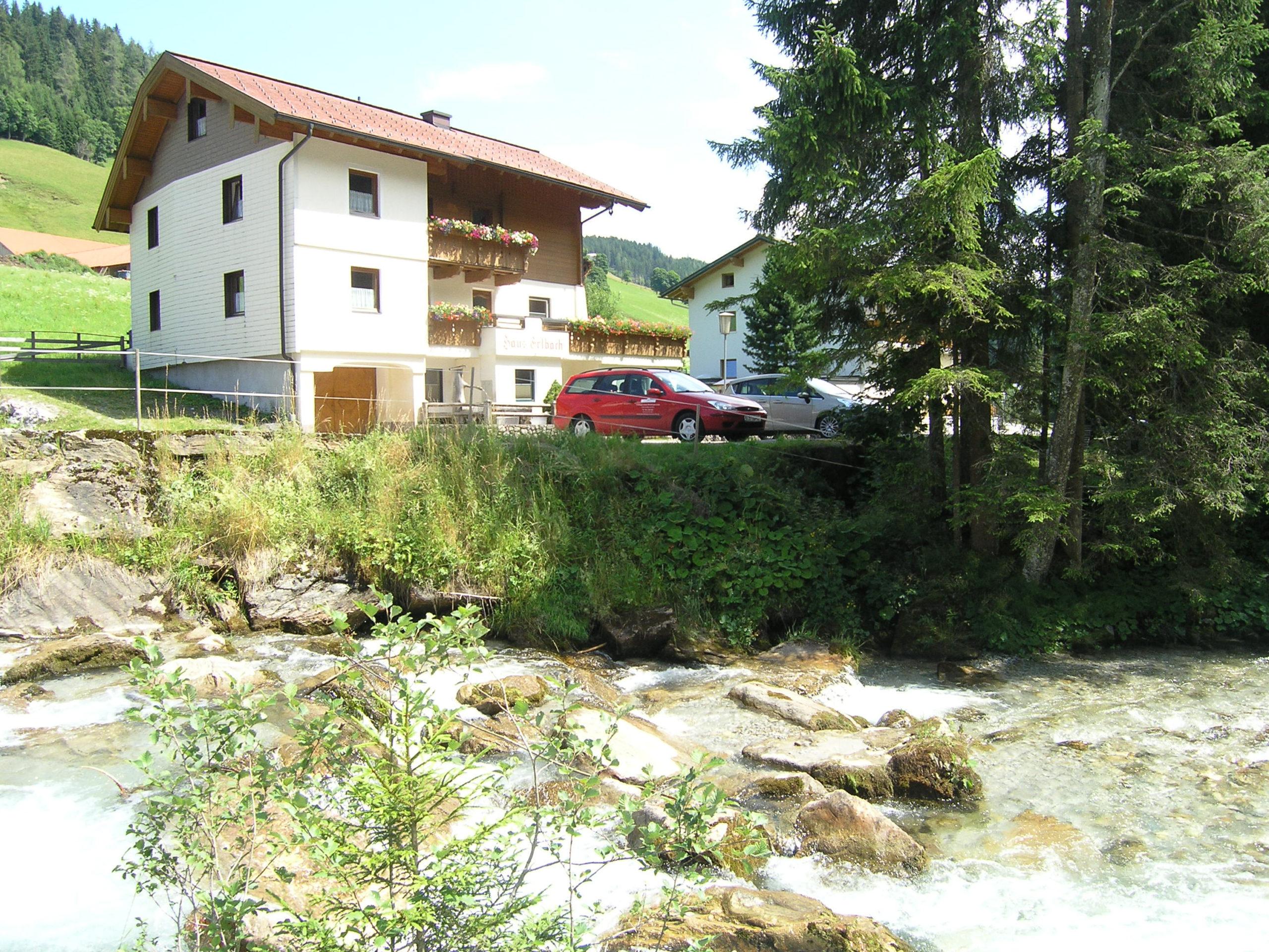 Widok na wodę i dom