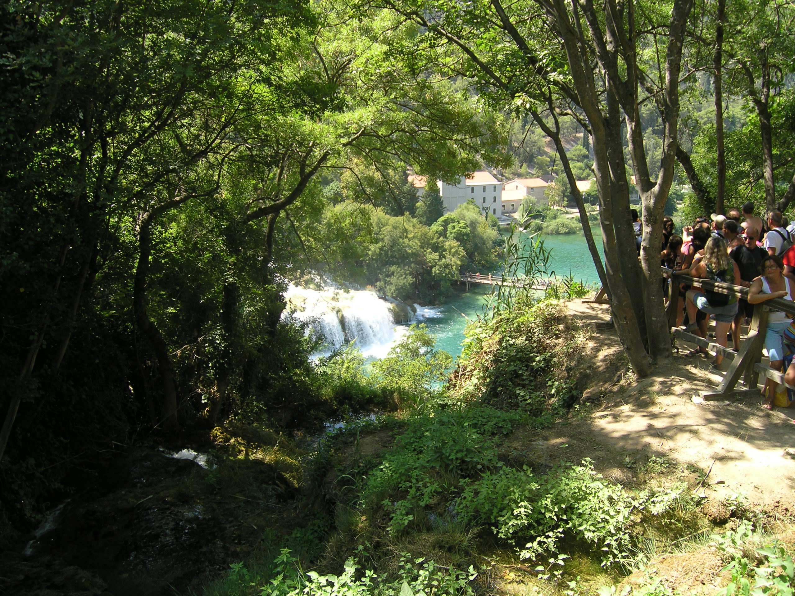 Widok na wodospad