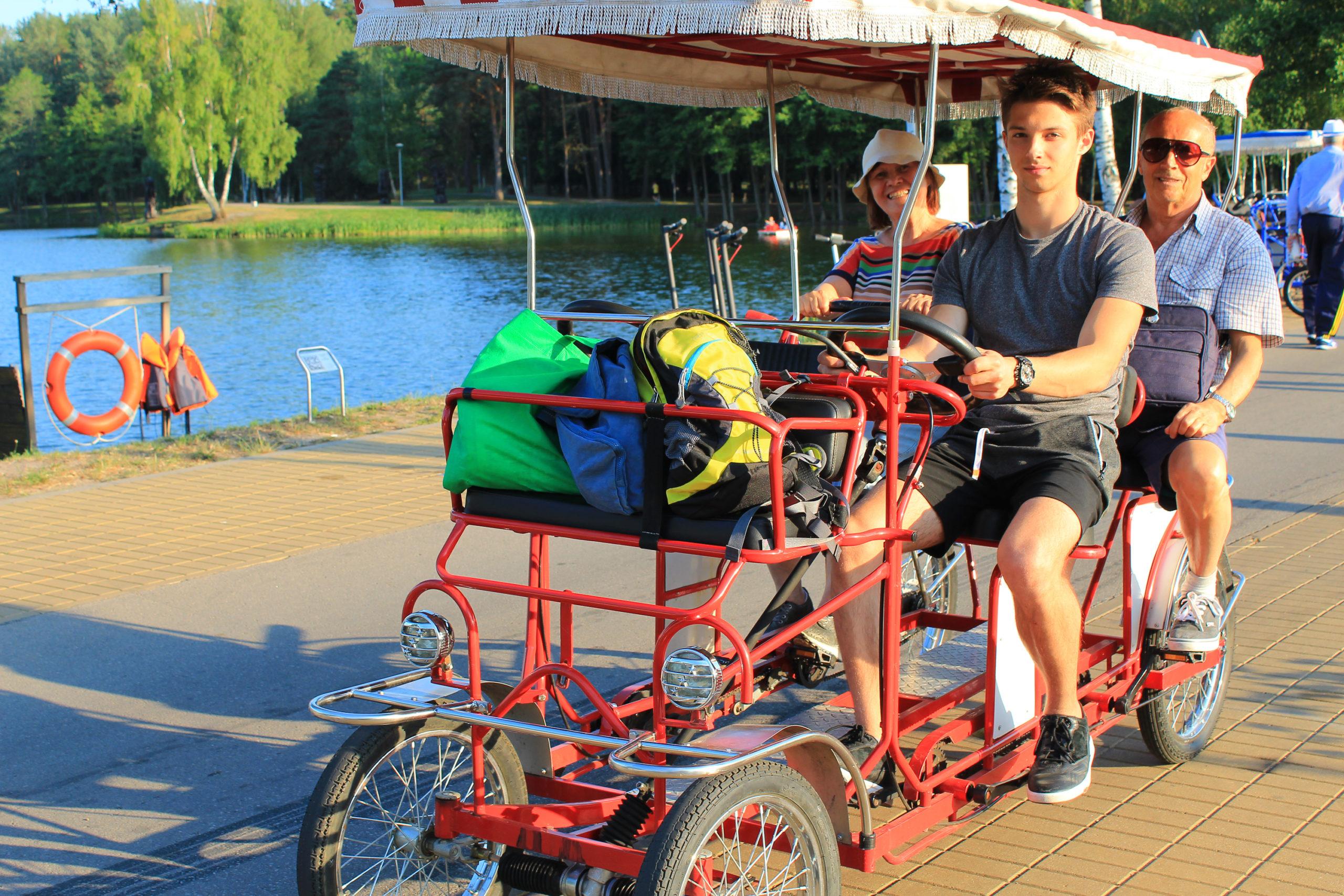 Rodziną na rowerze