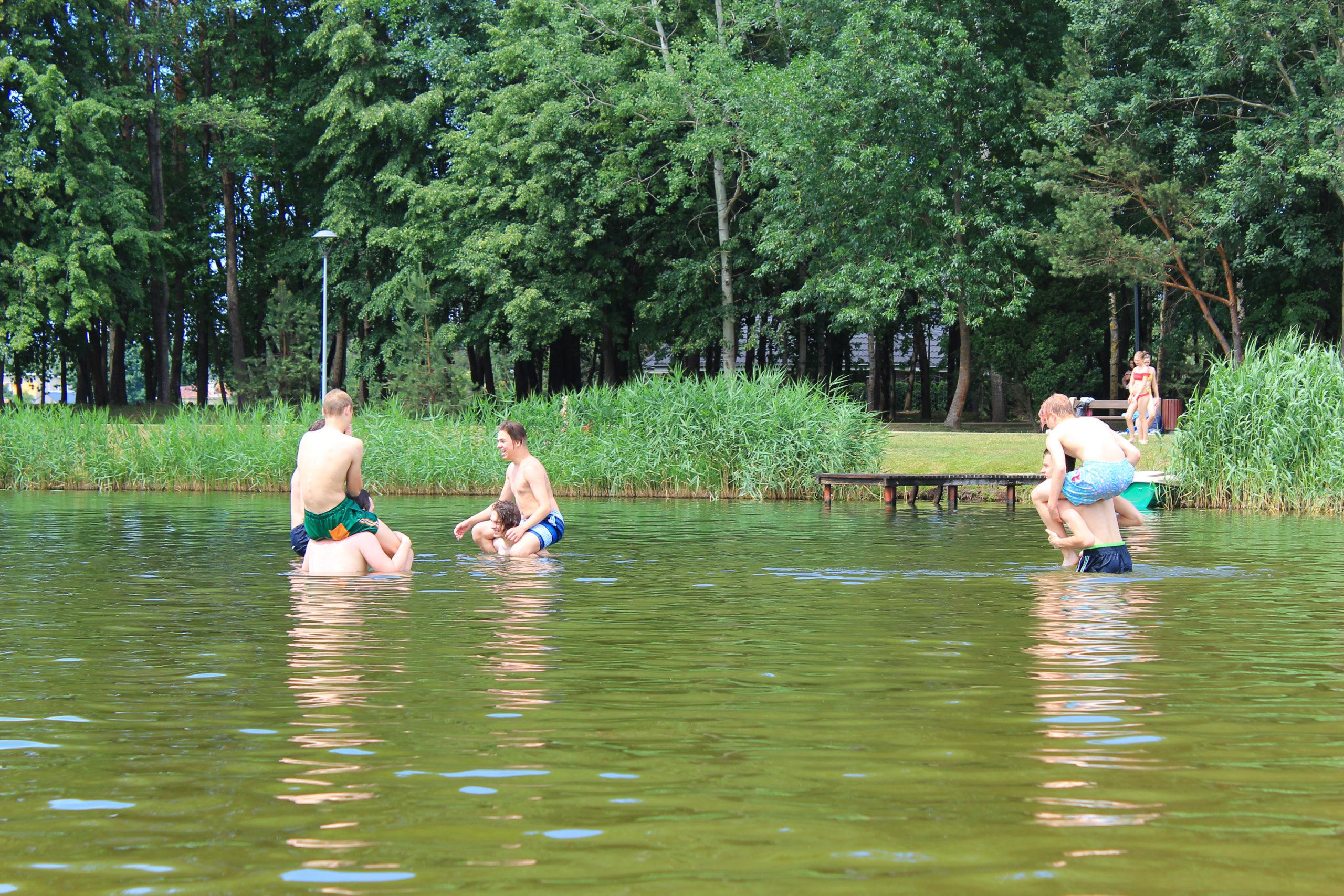 Zabawy w wodzie