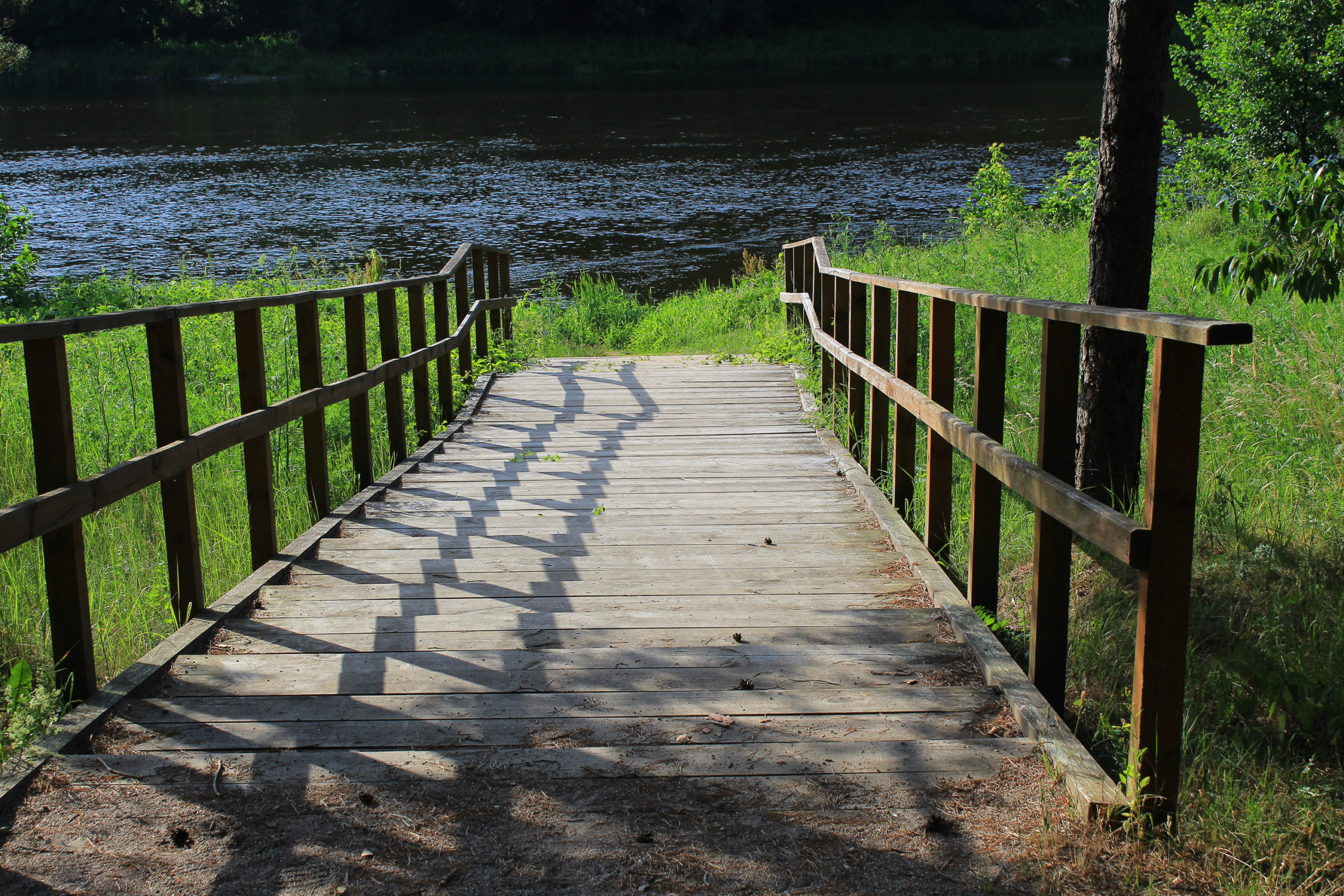 Schody do rzeki