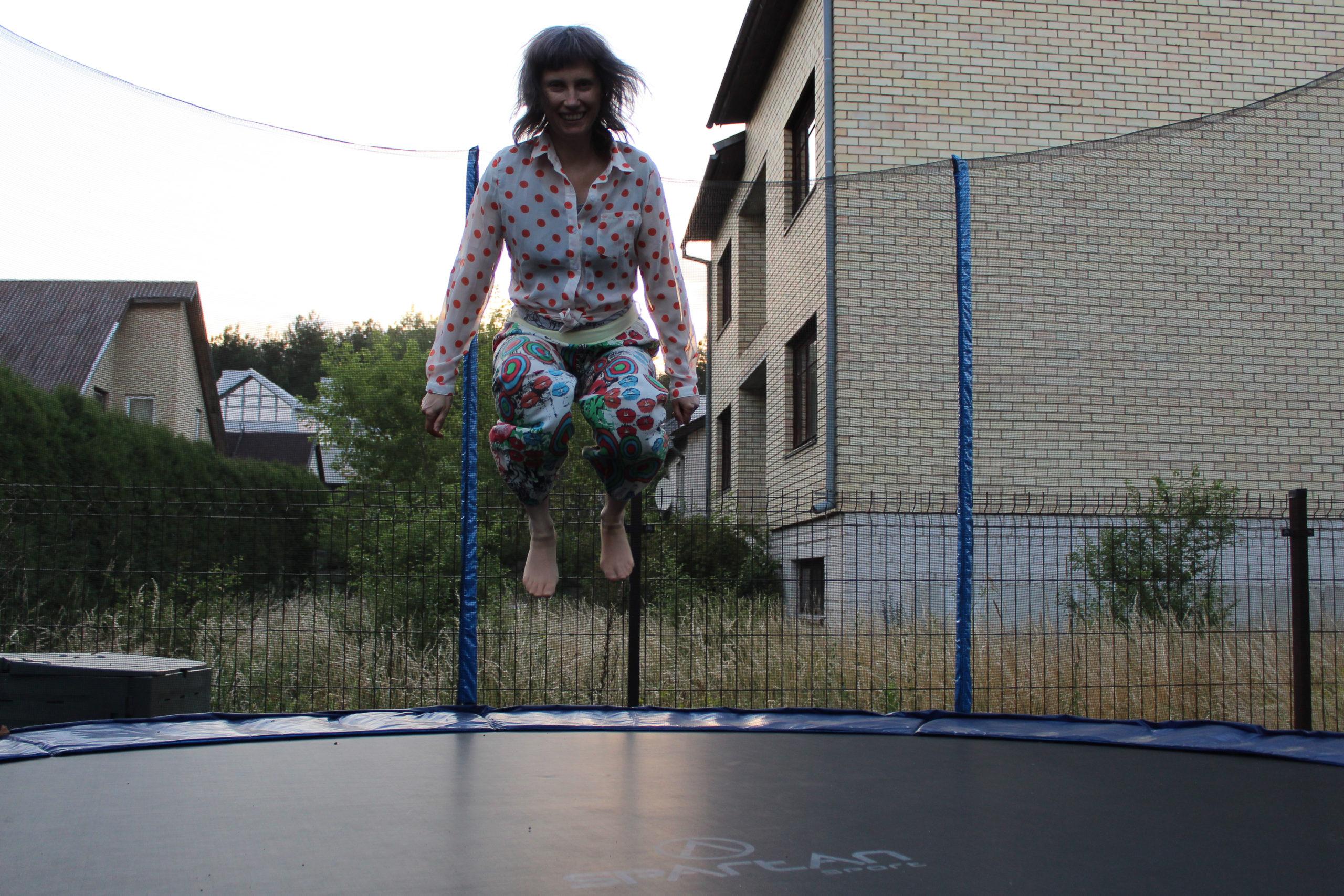 Viola na trampolinie