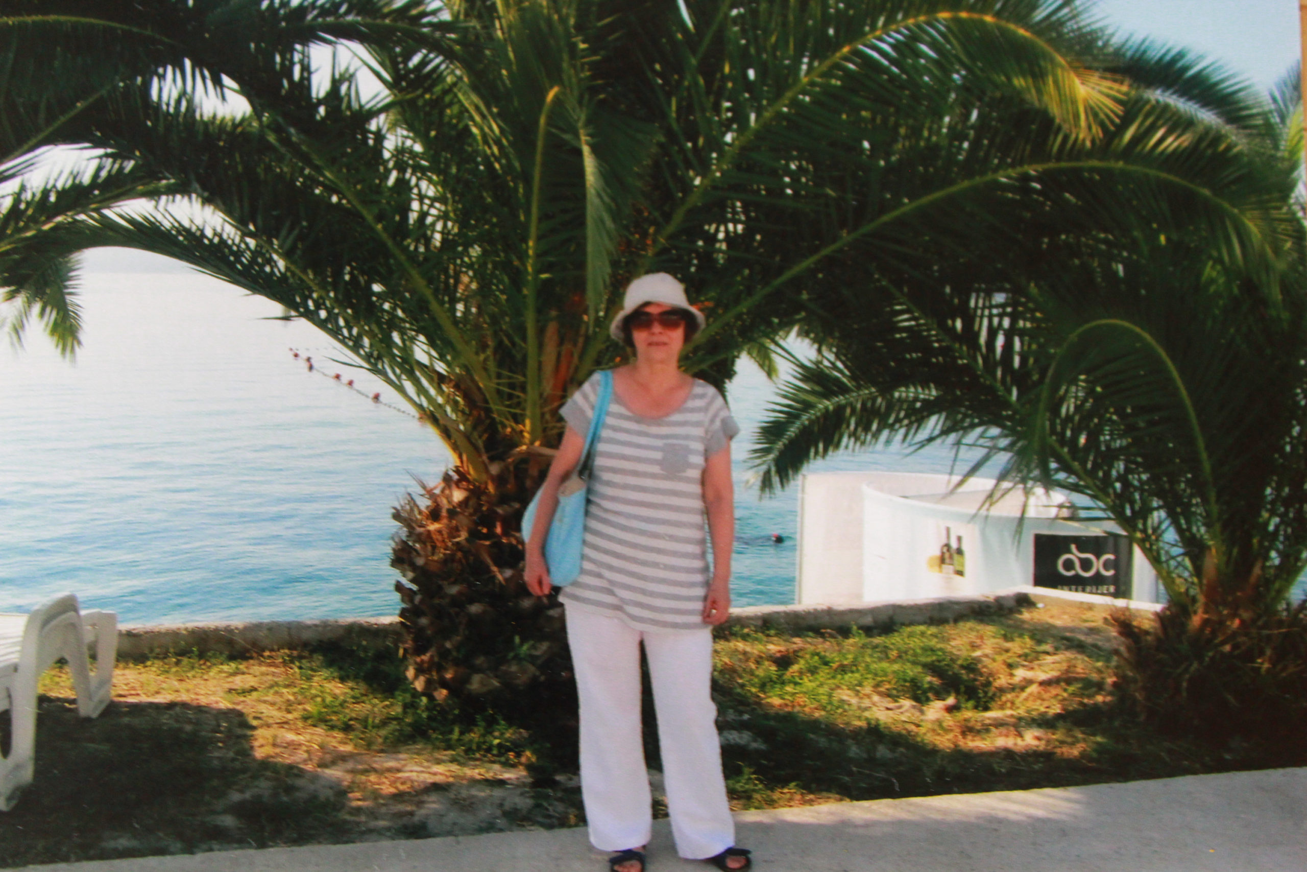 Mama z palmą