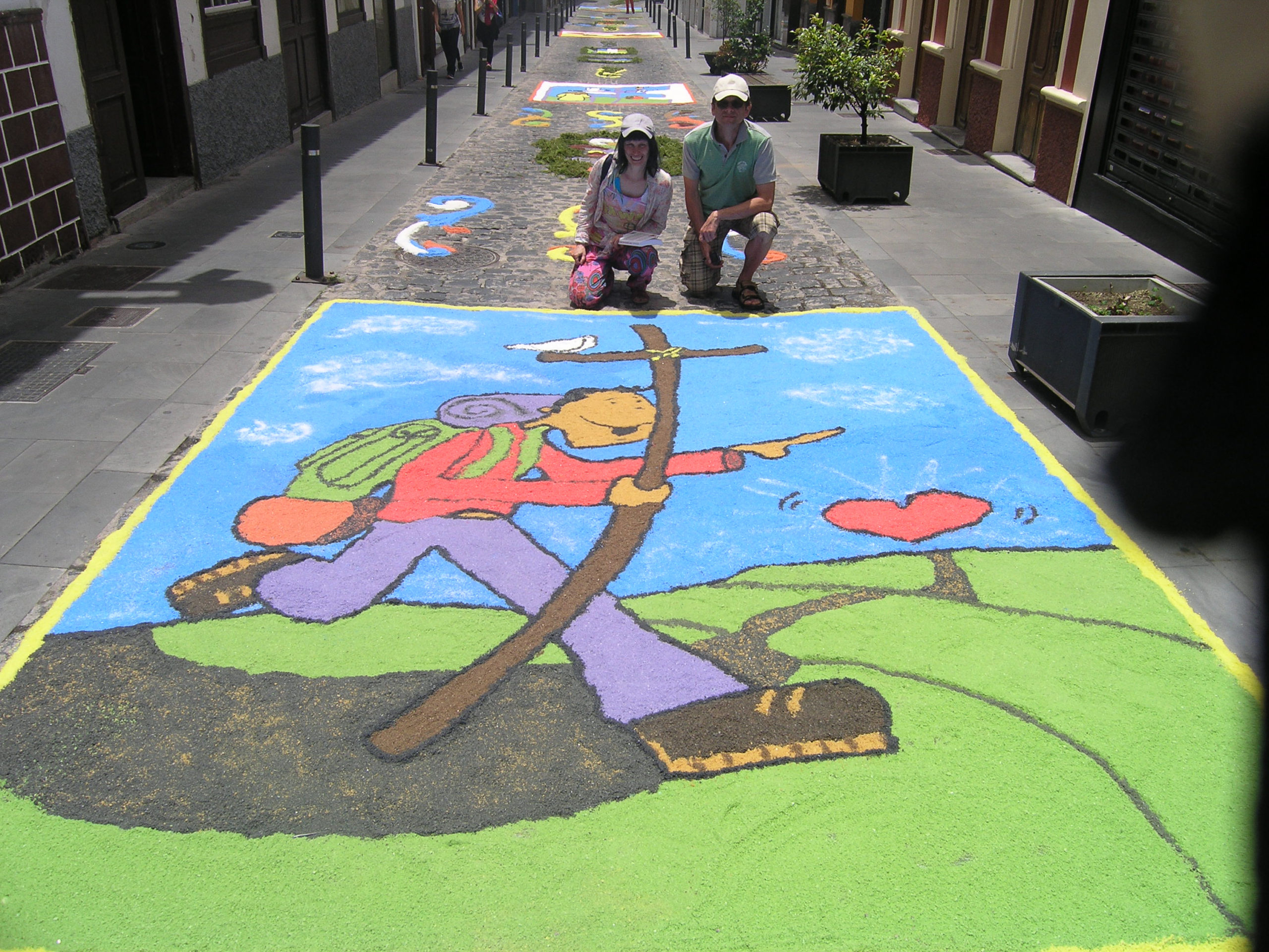 malunki na ulicy