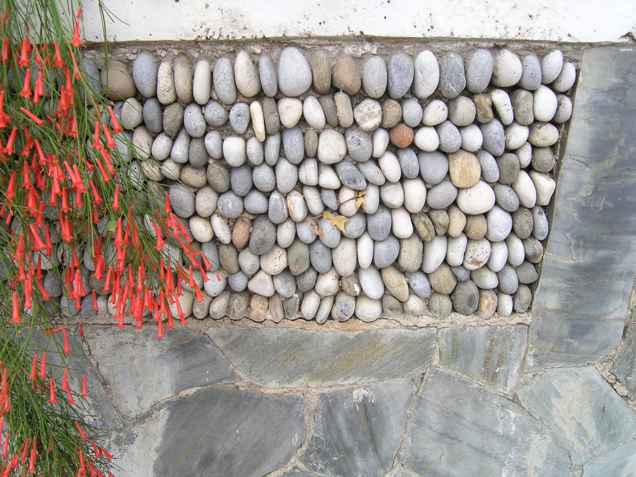 Ułożone kamienie