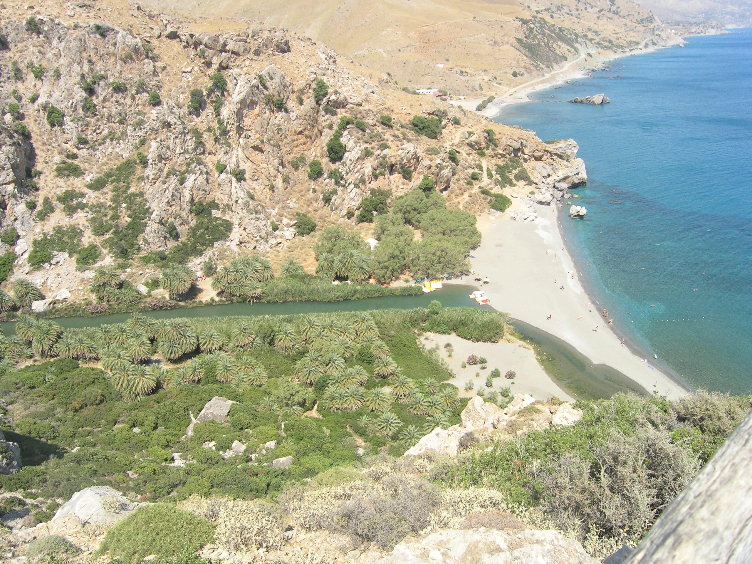 Ujście rzeki do morza