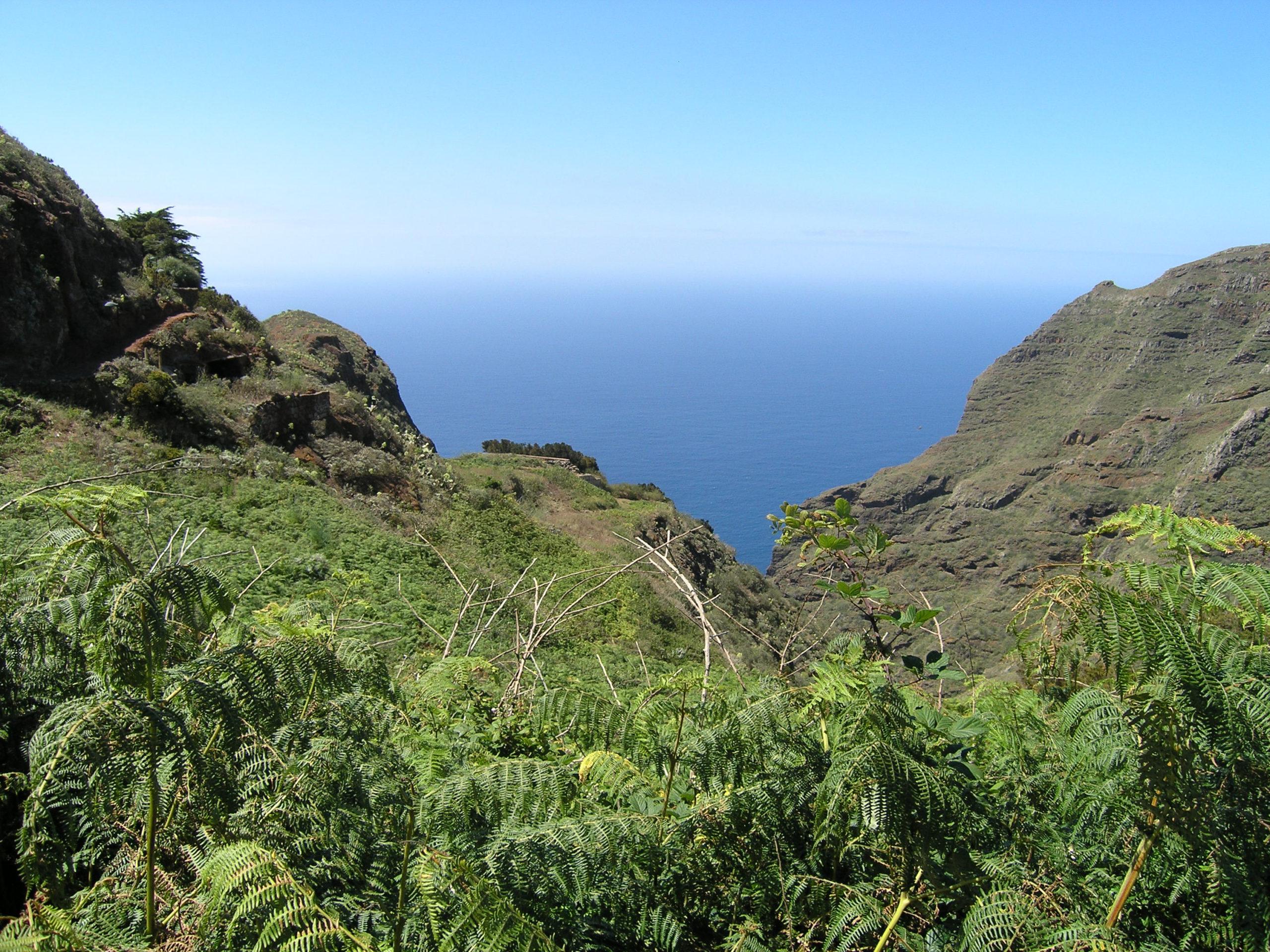 Widok na morze i góry
