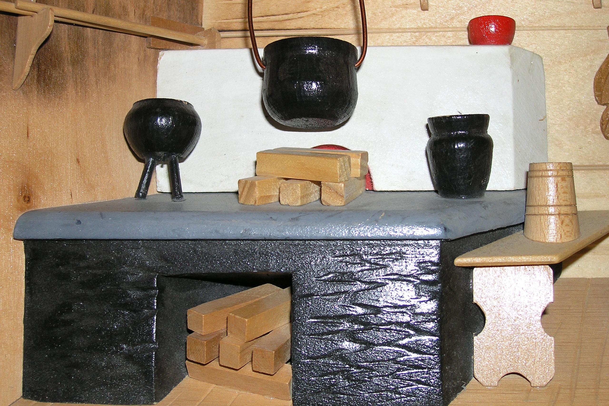wisła makieta chaty