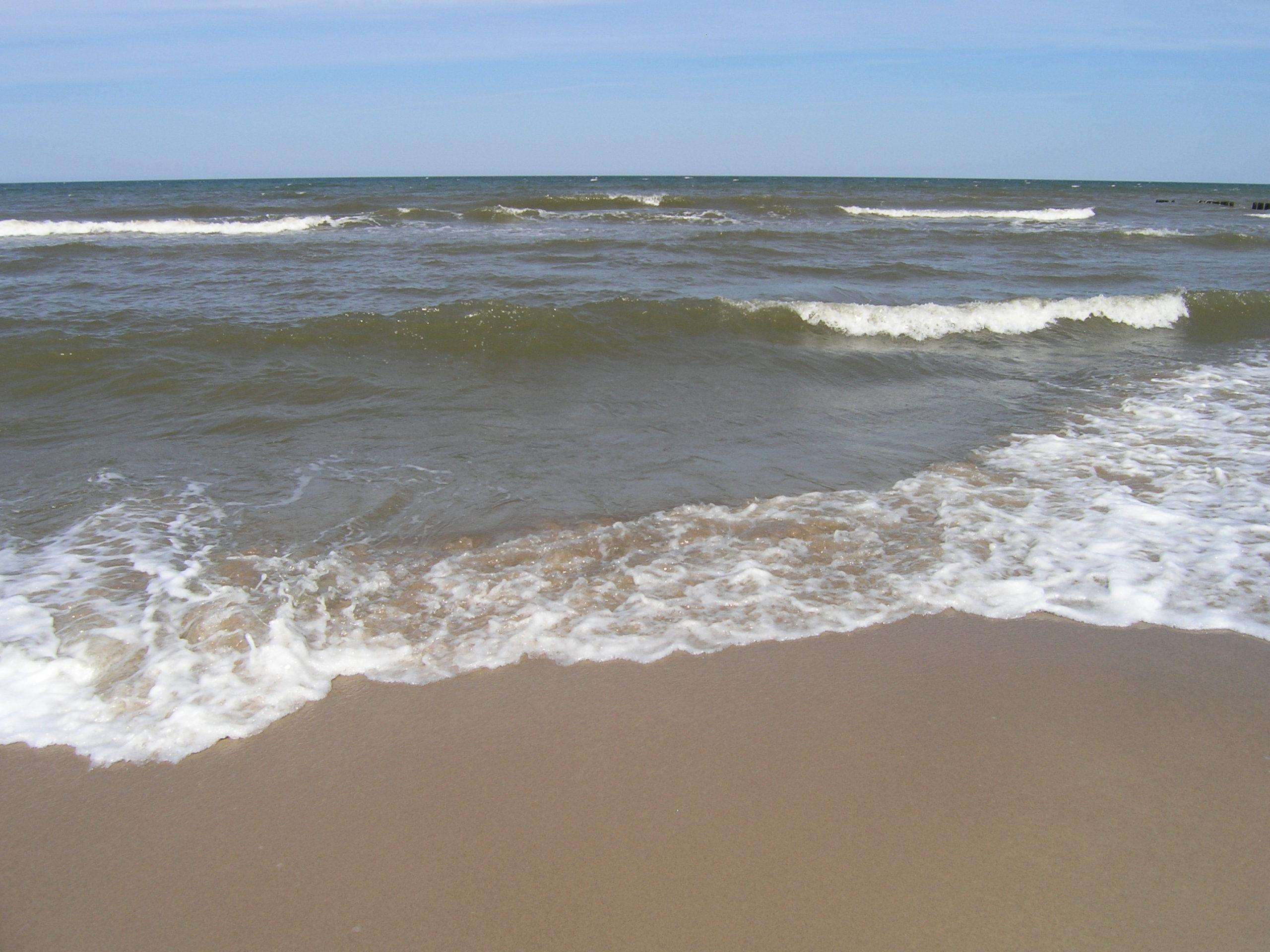 wisełka widok na morze