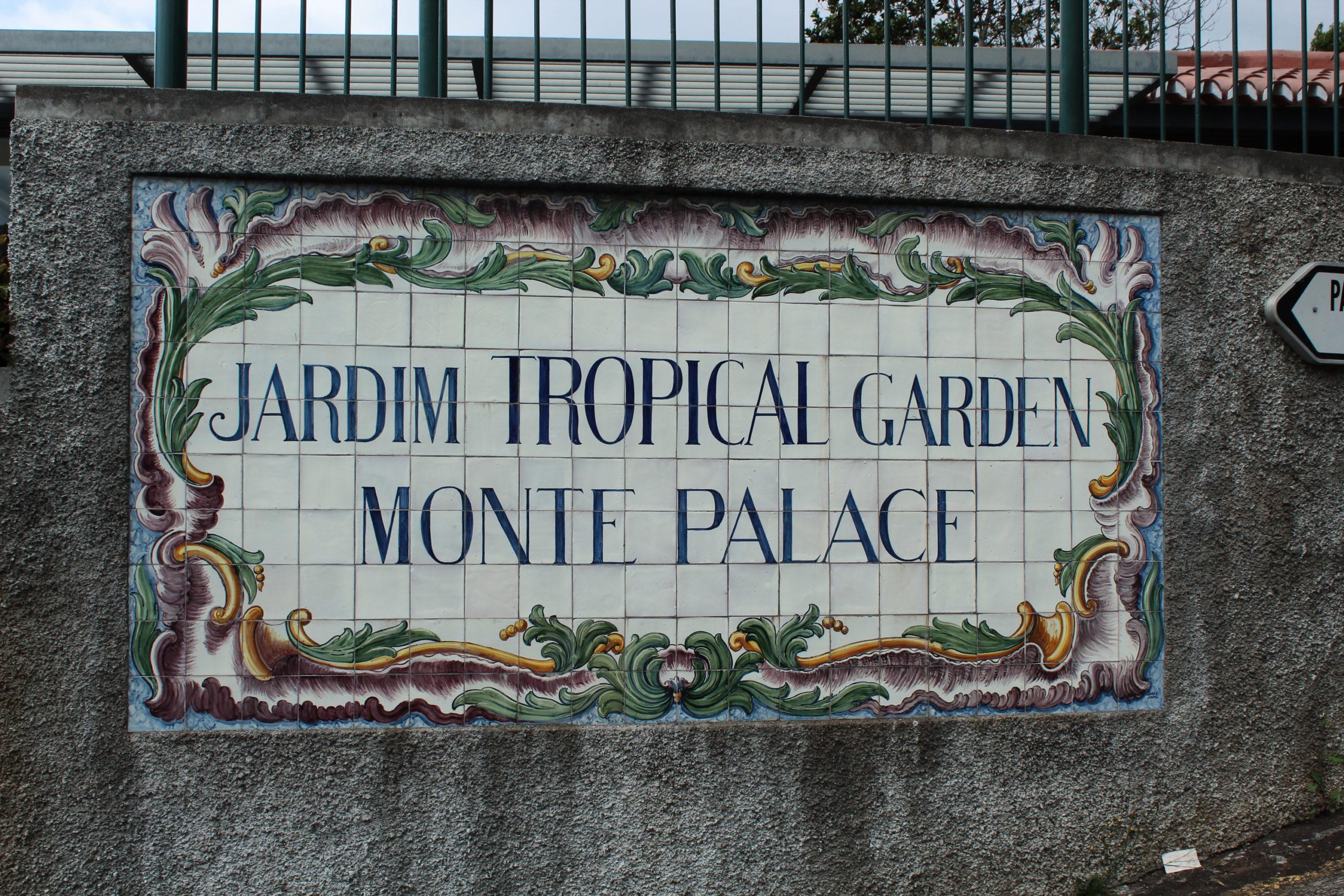 madera jardim tropical garden monta palace