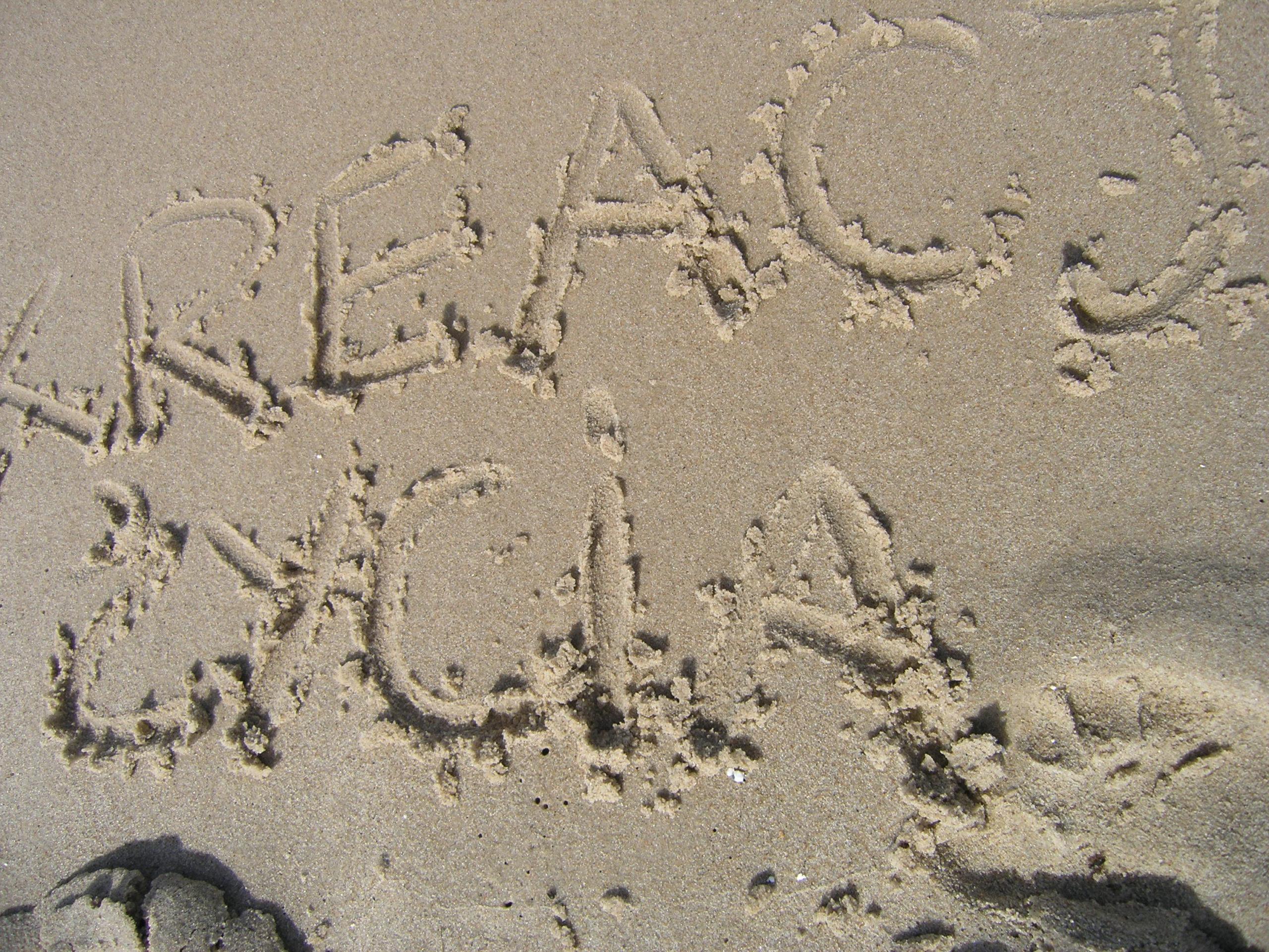 wisełka kreacja życia na piasku