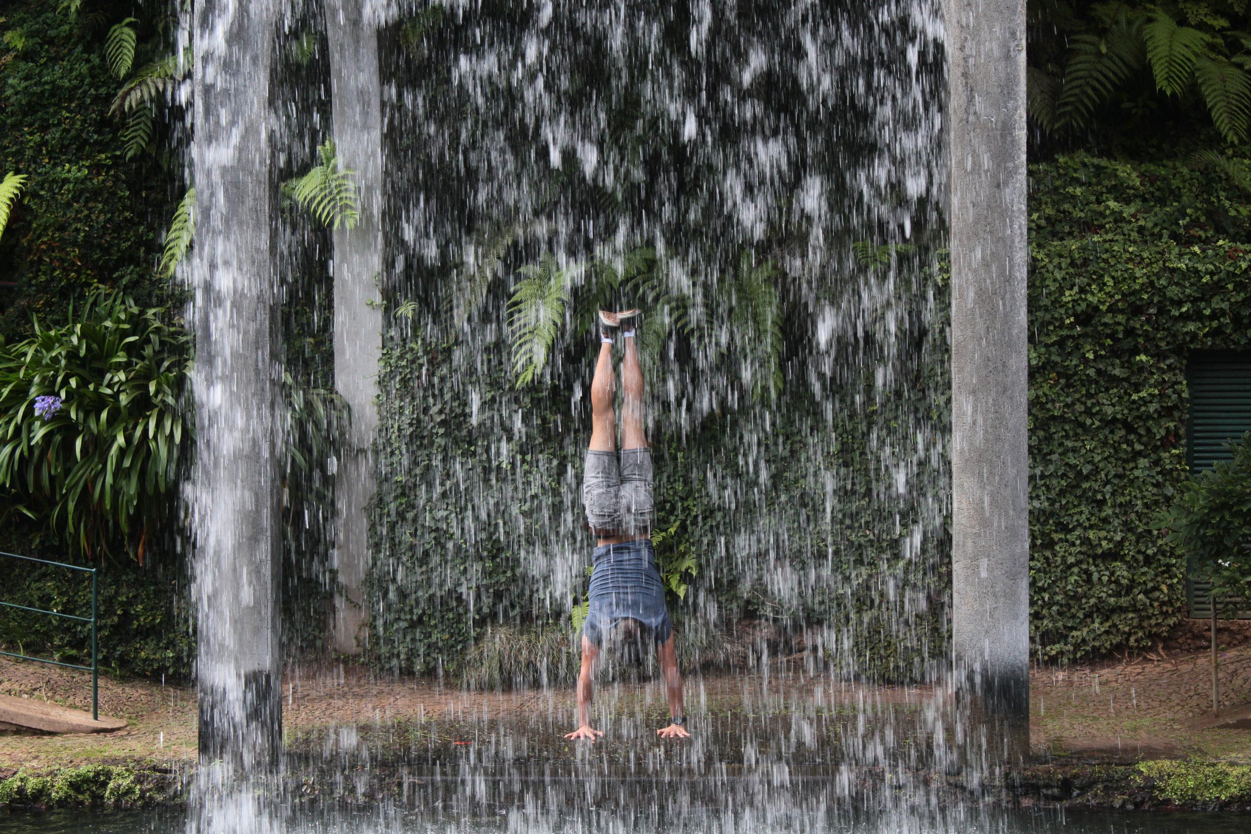 madera fontanna wodospad
