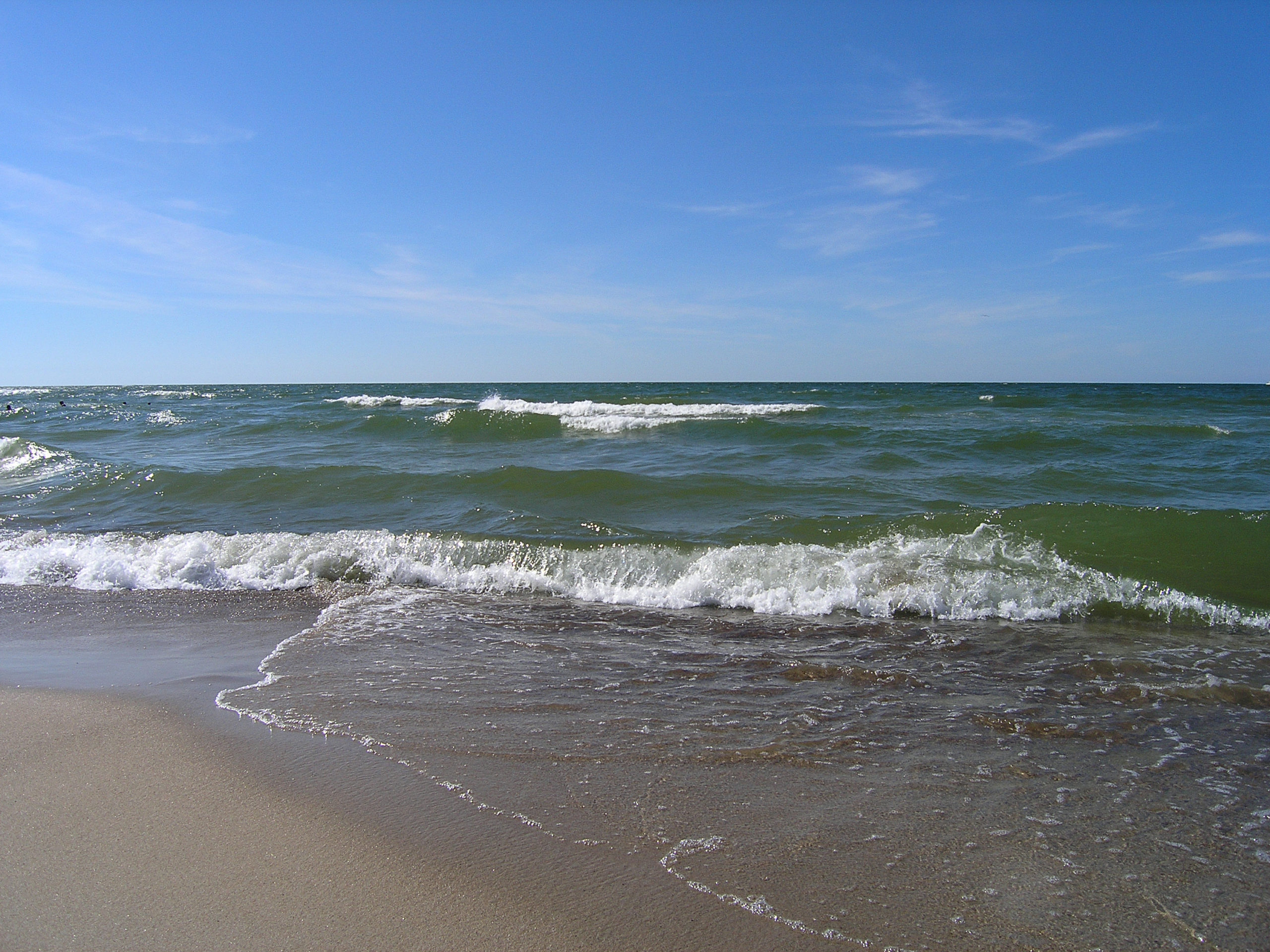 Łeba widok na morze