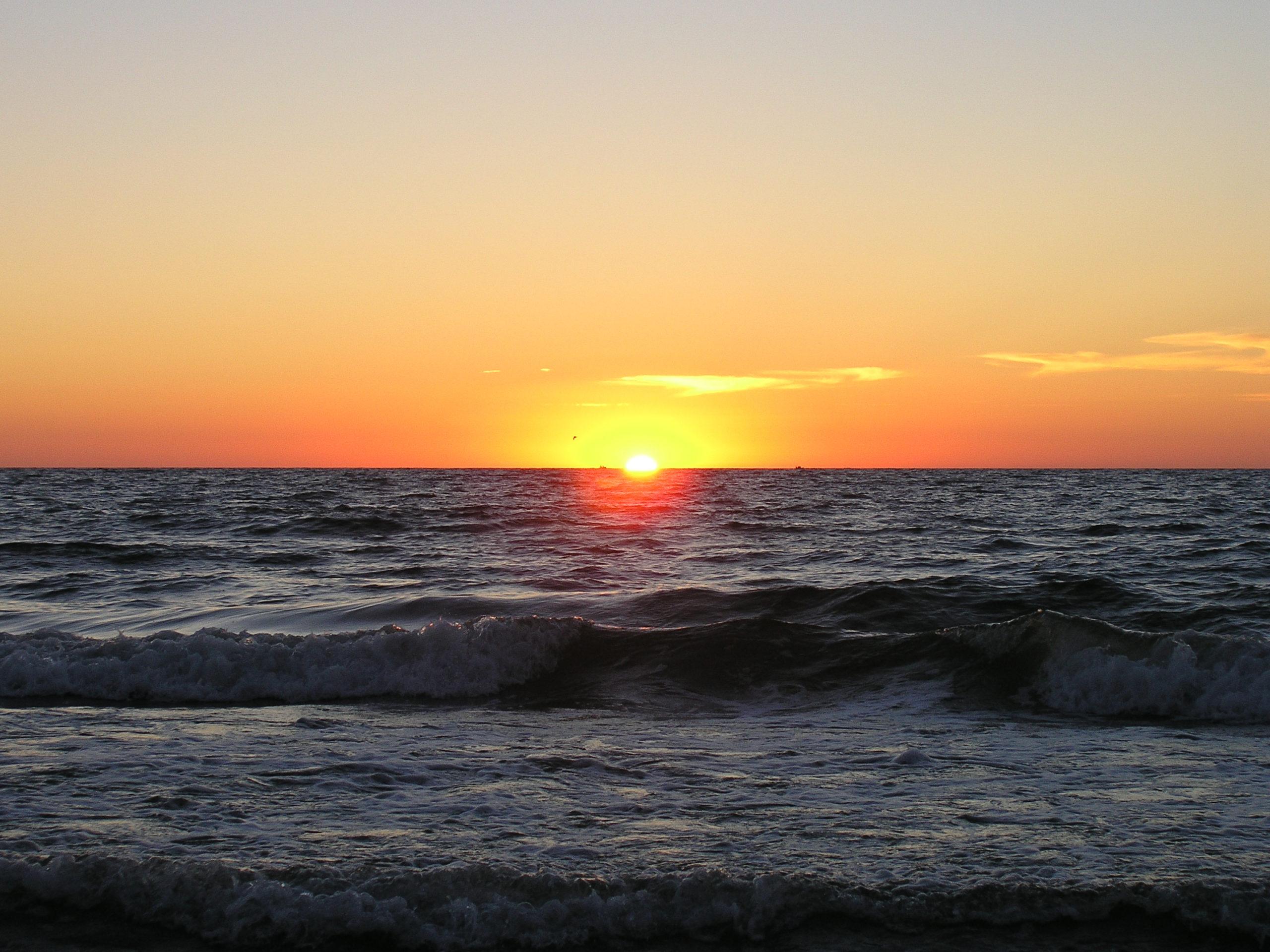 jastrzębia góra zachód słońca