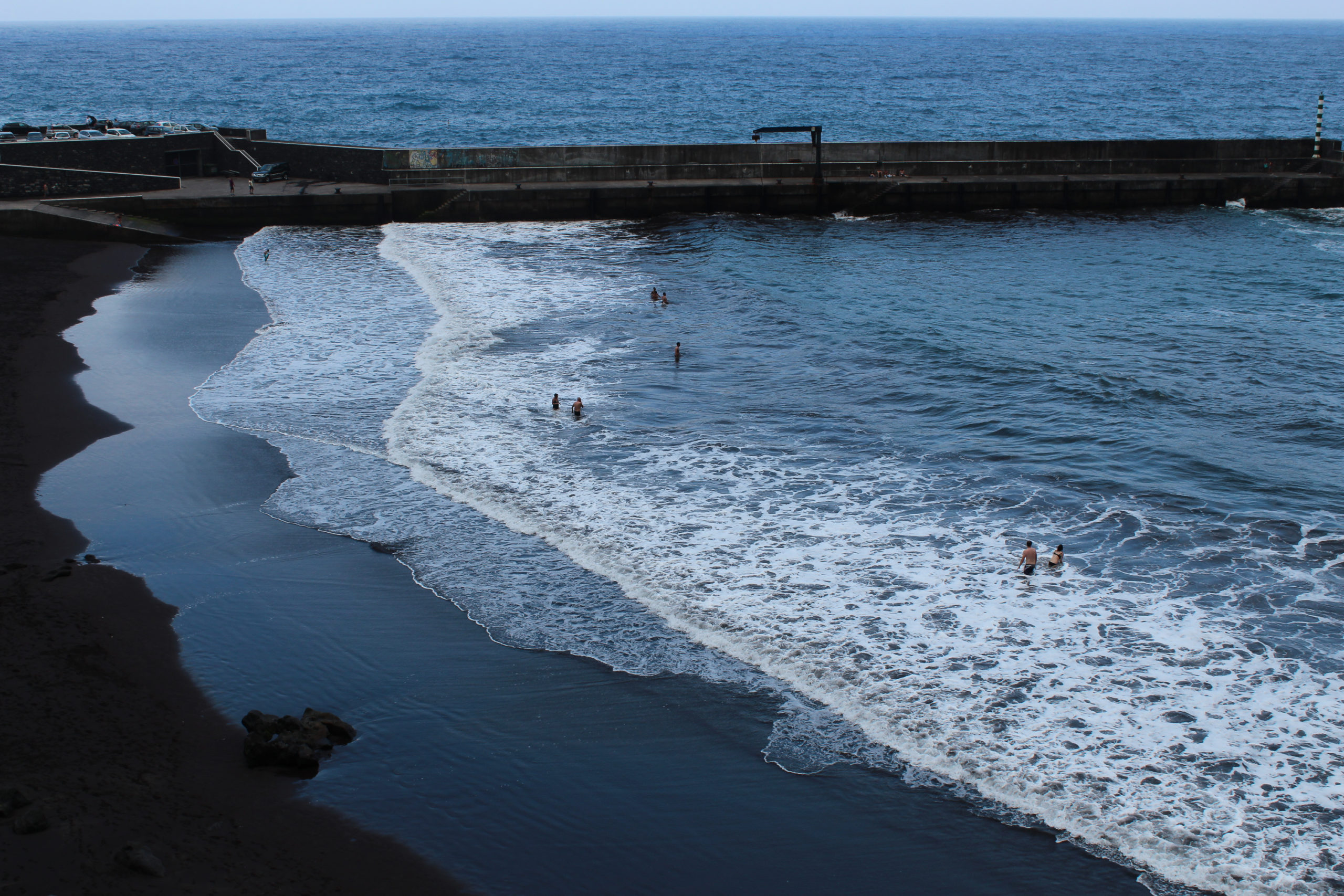 madera plaża i wały