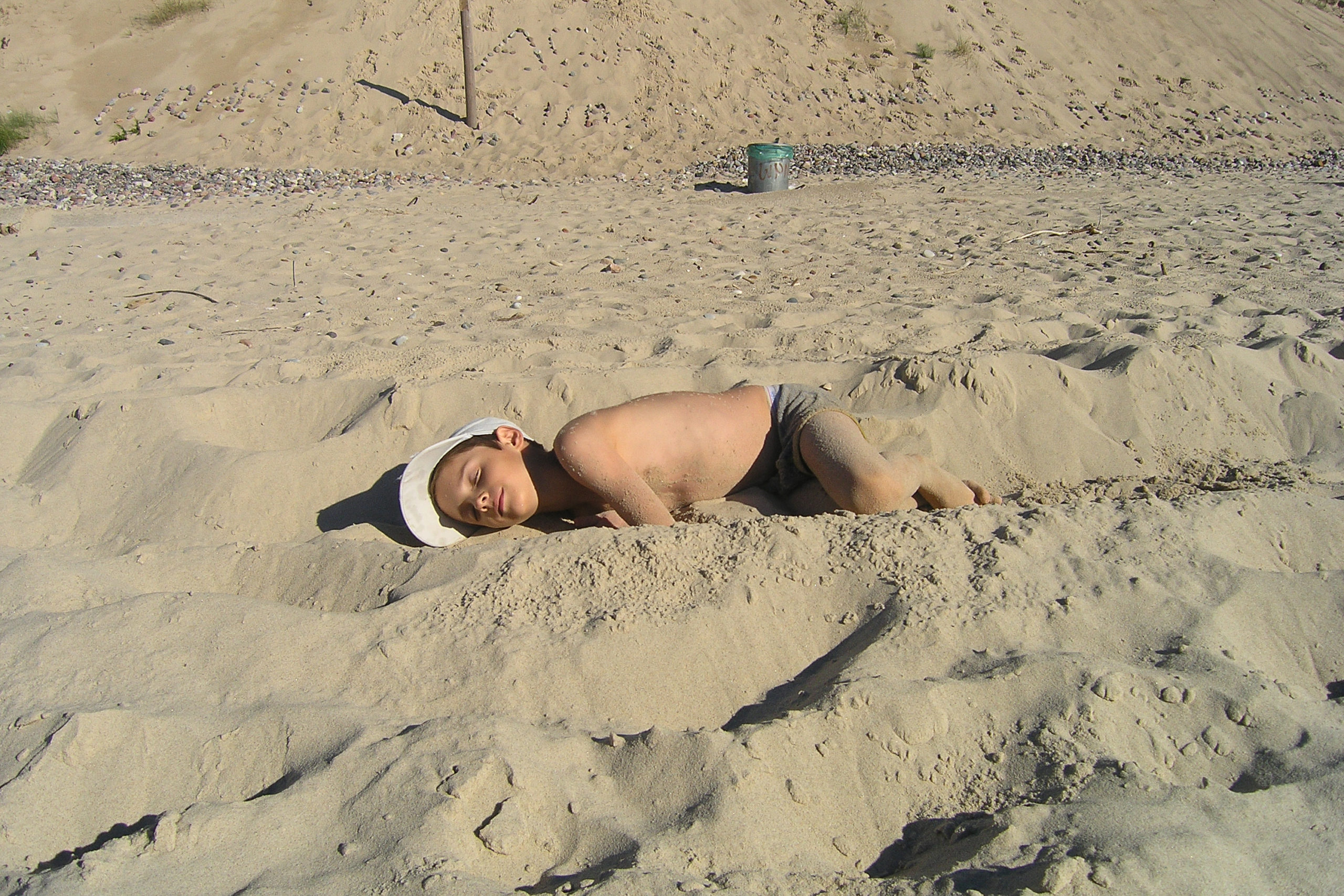 Międzyzdroje zabawa na plaży