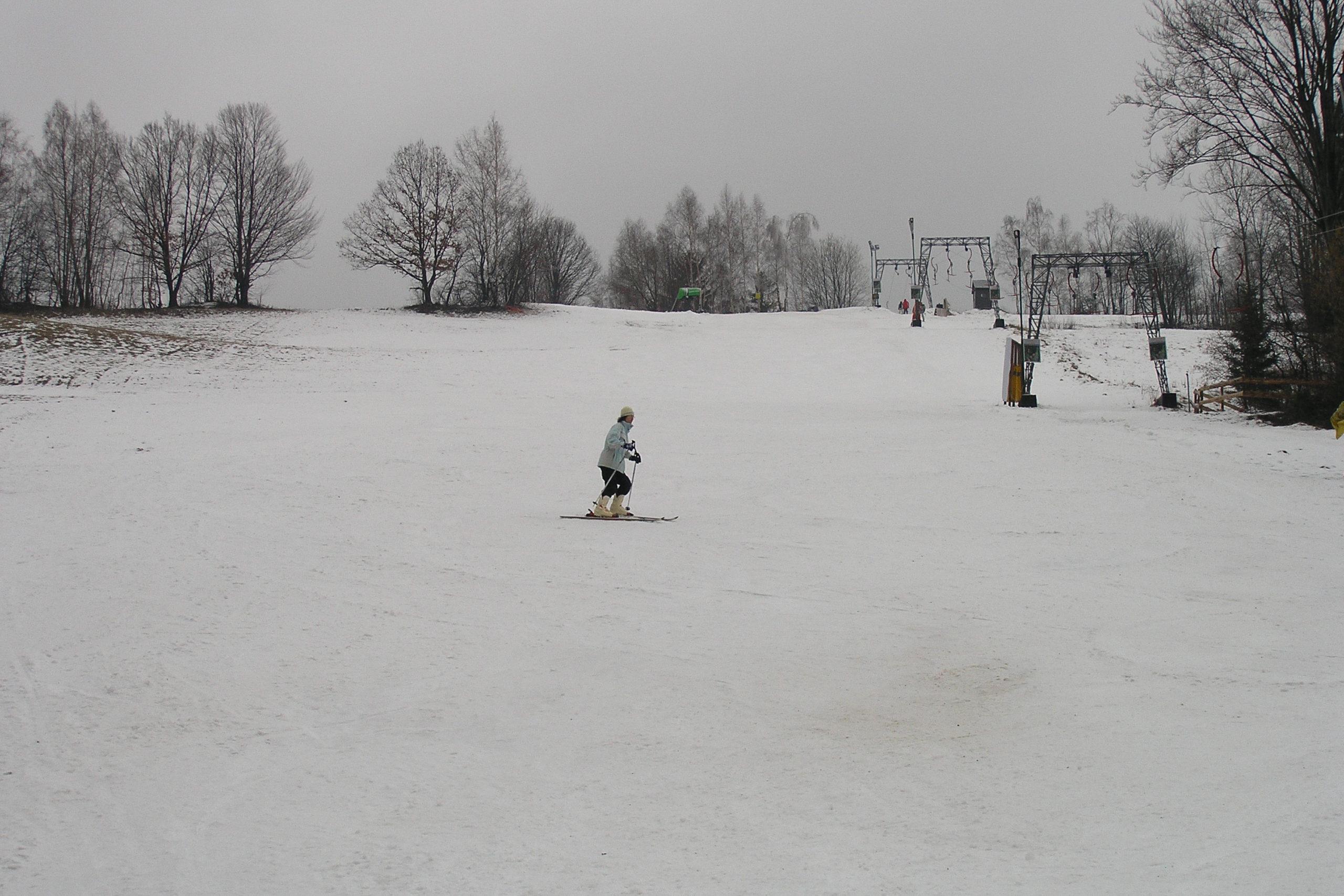 wisła zjazd na nartach