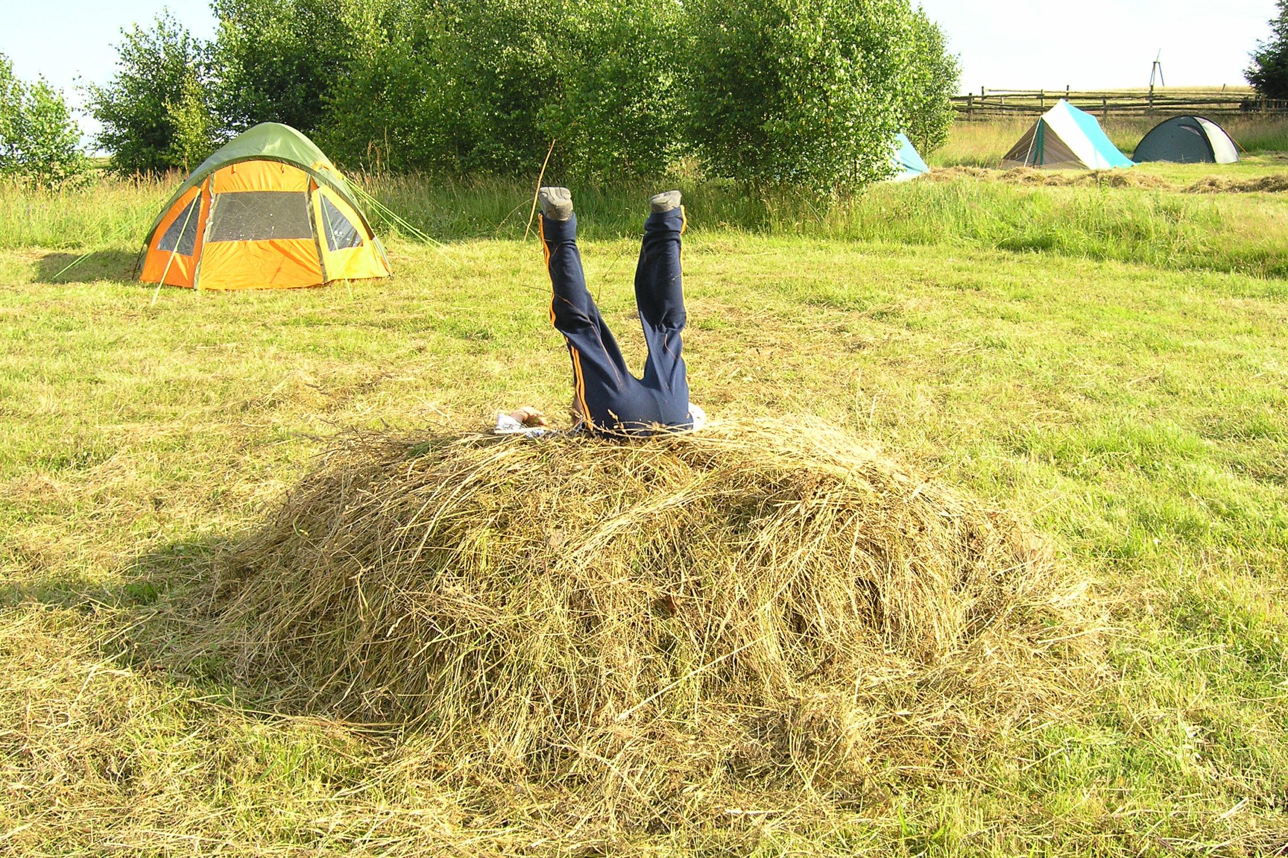 kożyczkowo zabawa na polu namiotowym