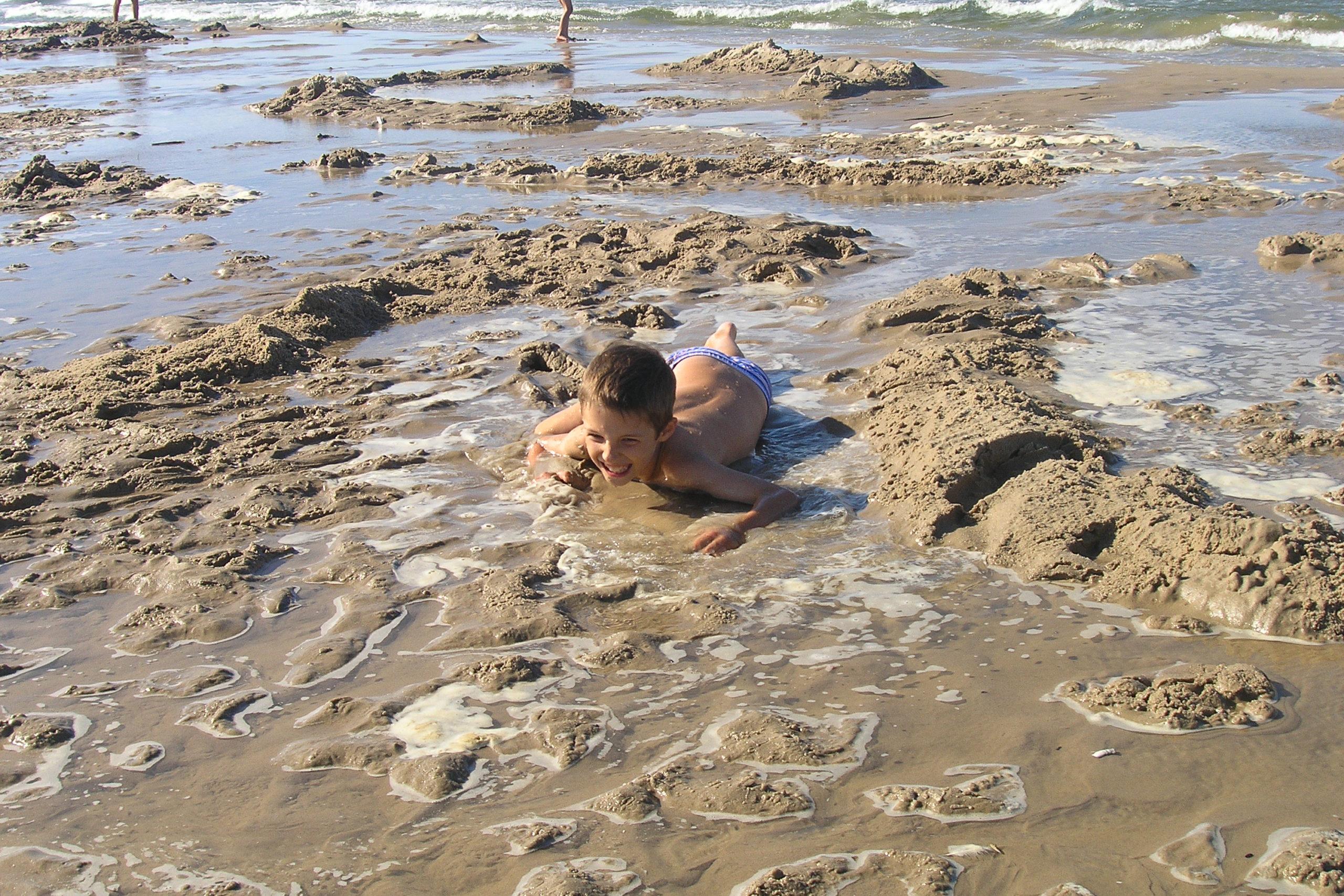 wisełka zabawa na plaży