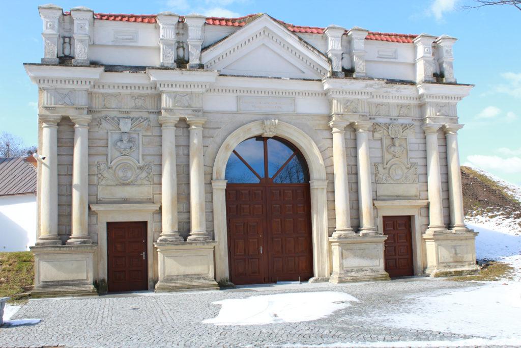 portyk budynku