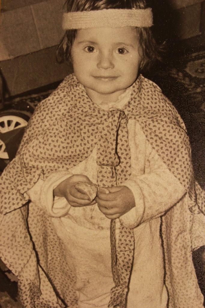 stare zdjęcie dziecka