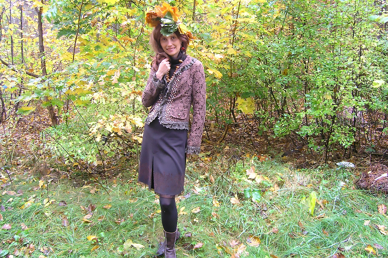 Violetta jako Pani Jesień