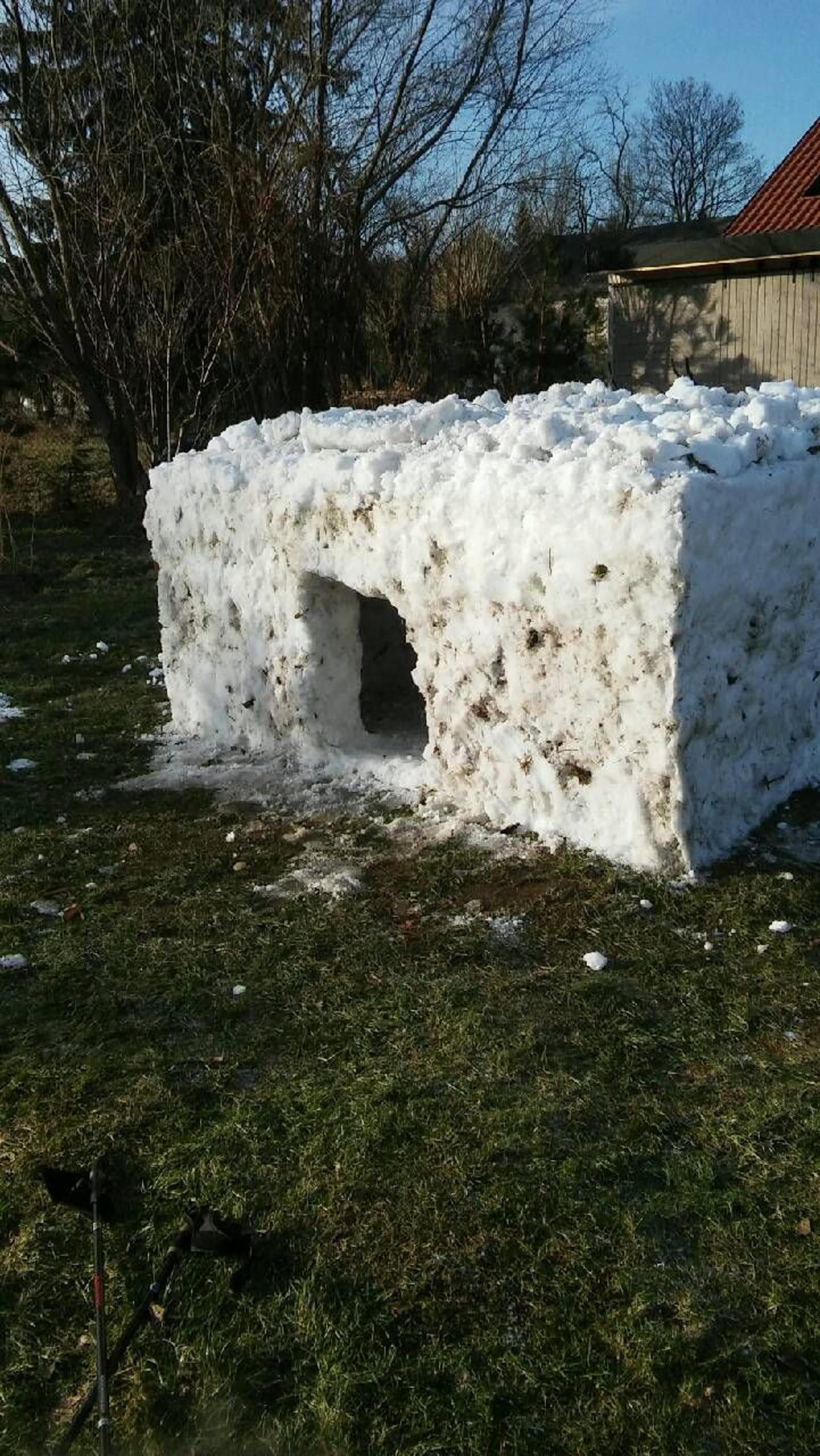 kwadratowe igloo