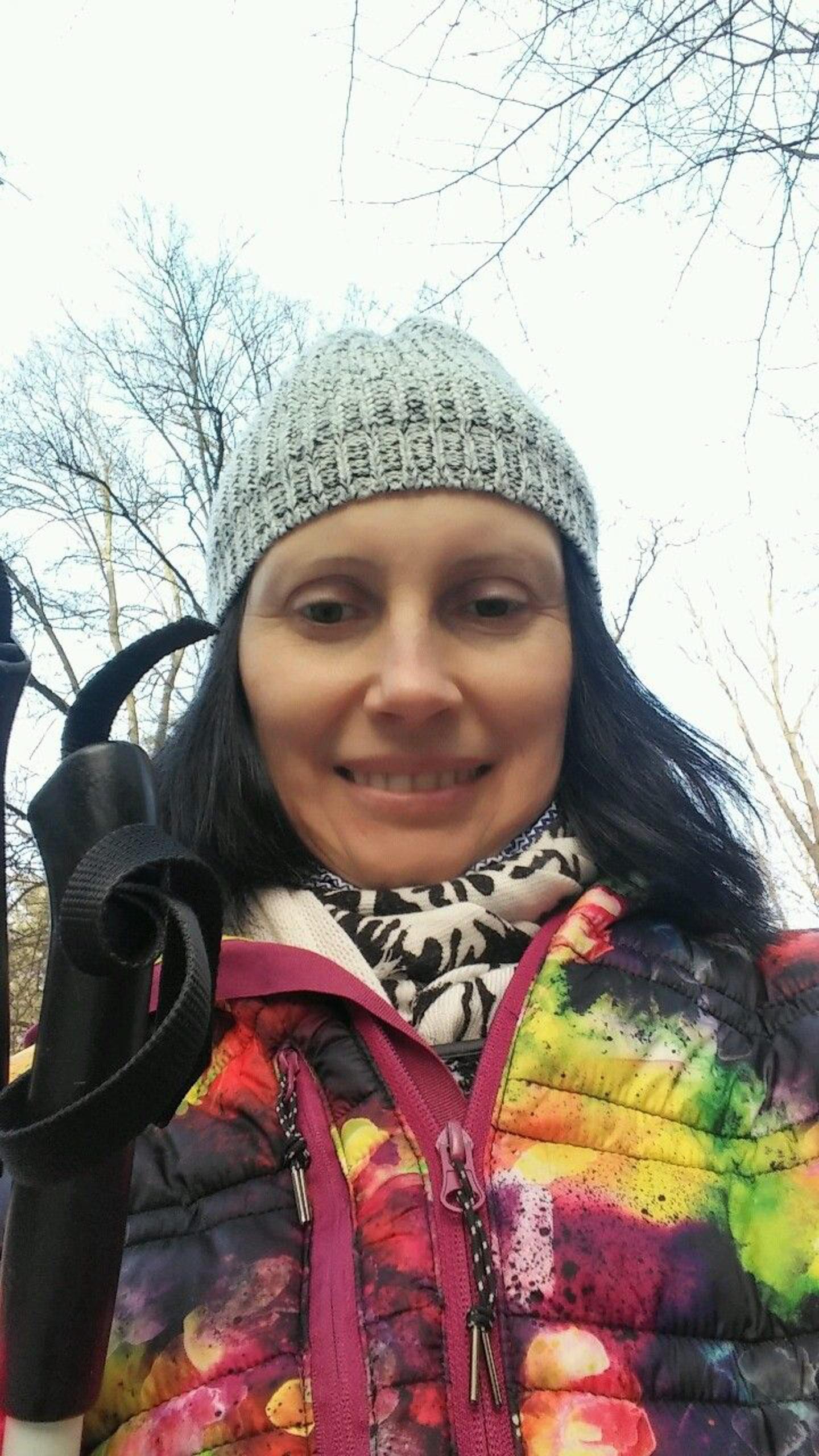 violetta wróblewska, selfij