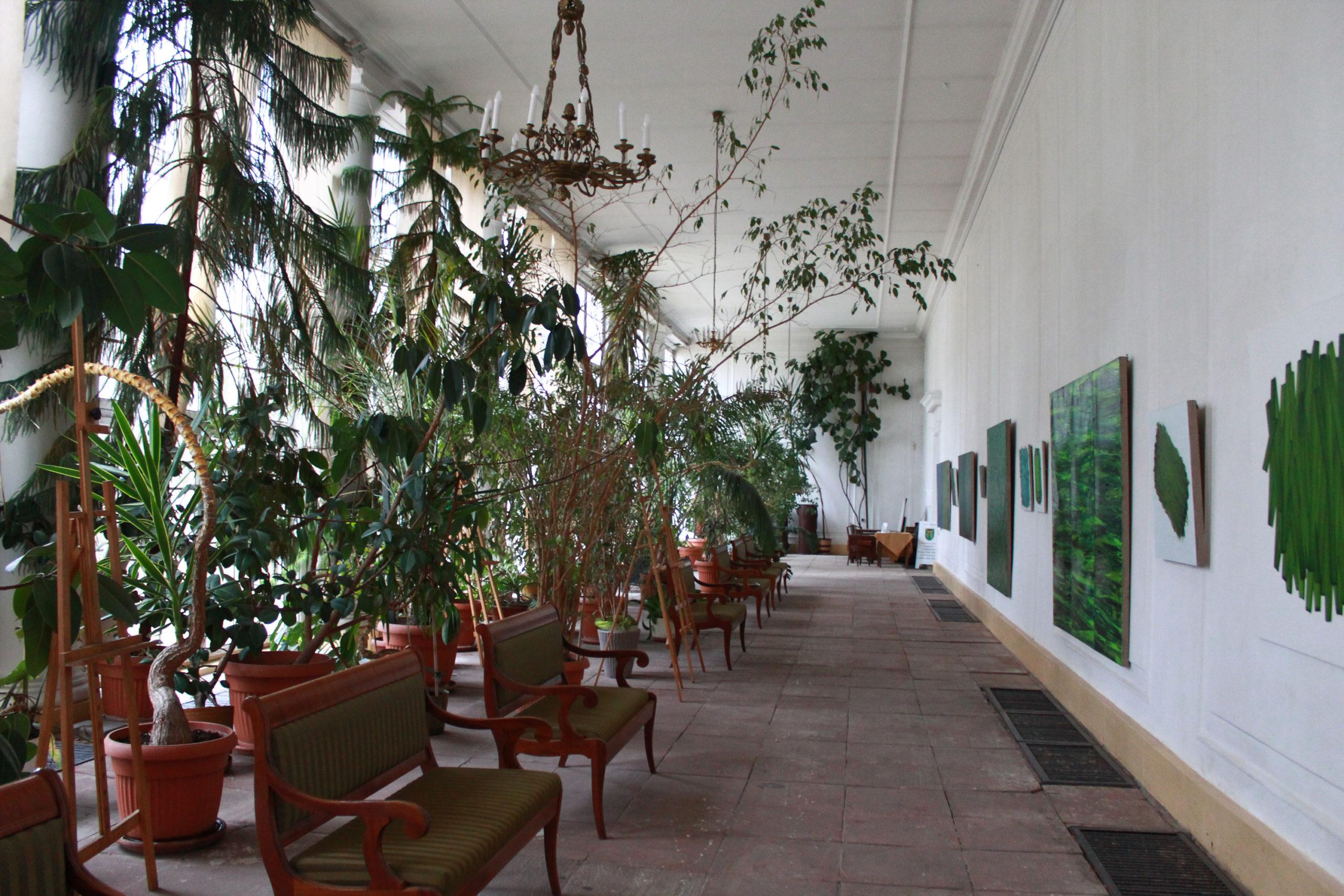 oranżeria w pałacu w Jabłonnie