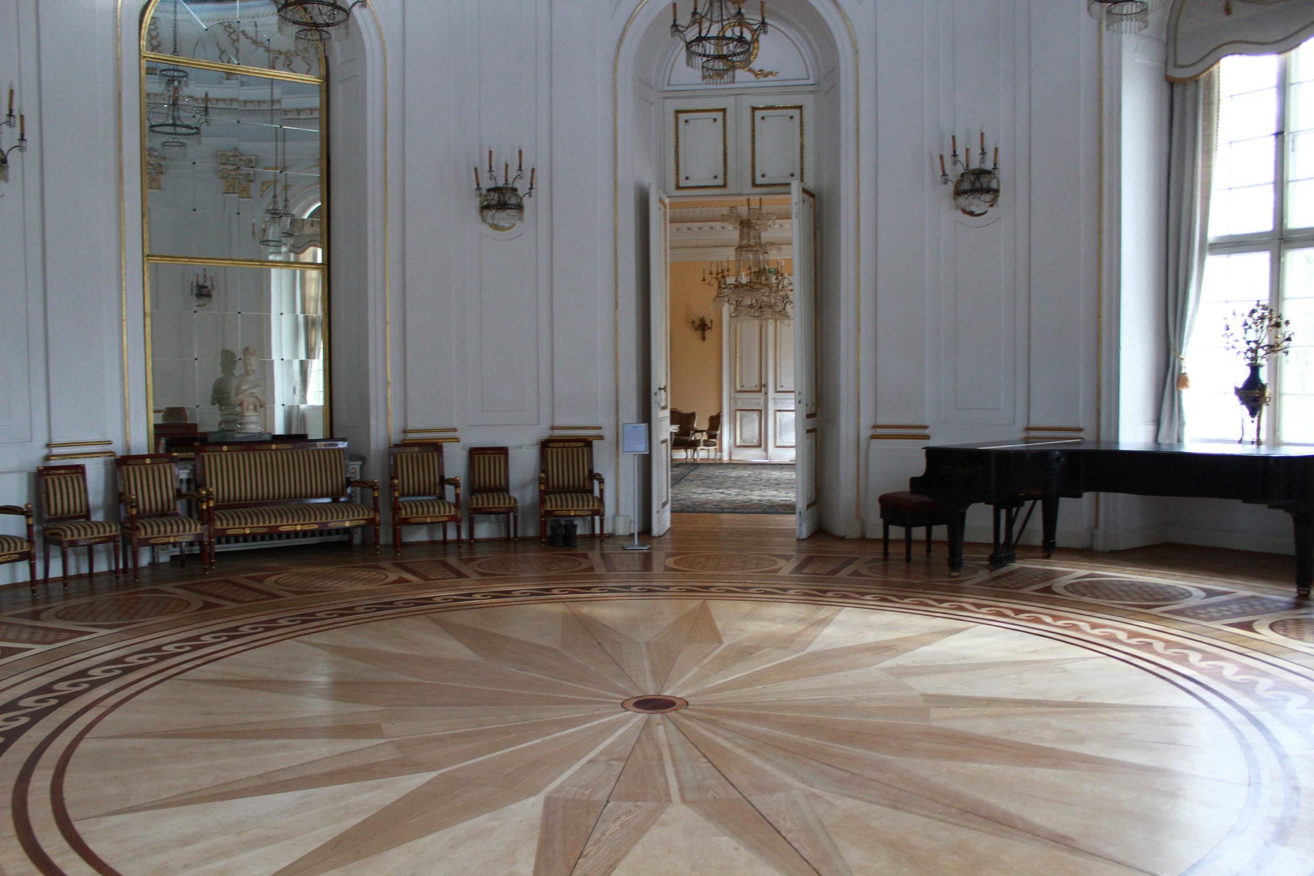 sala w pałacu