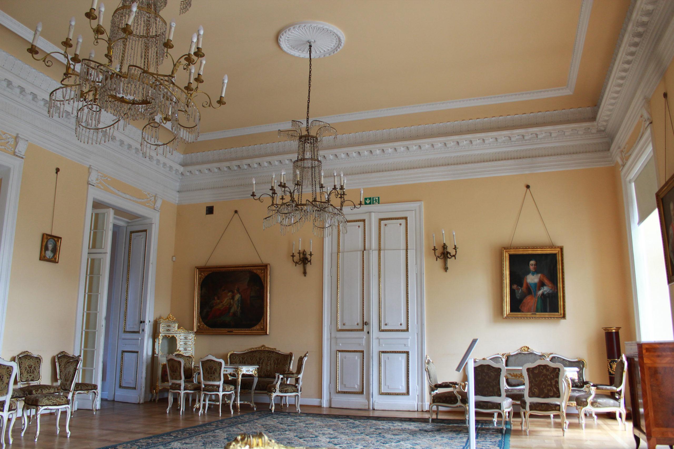 sala w pałacu w Jabłonnie