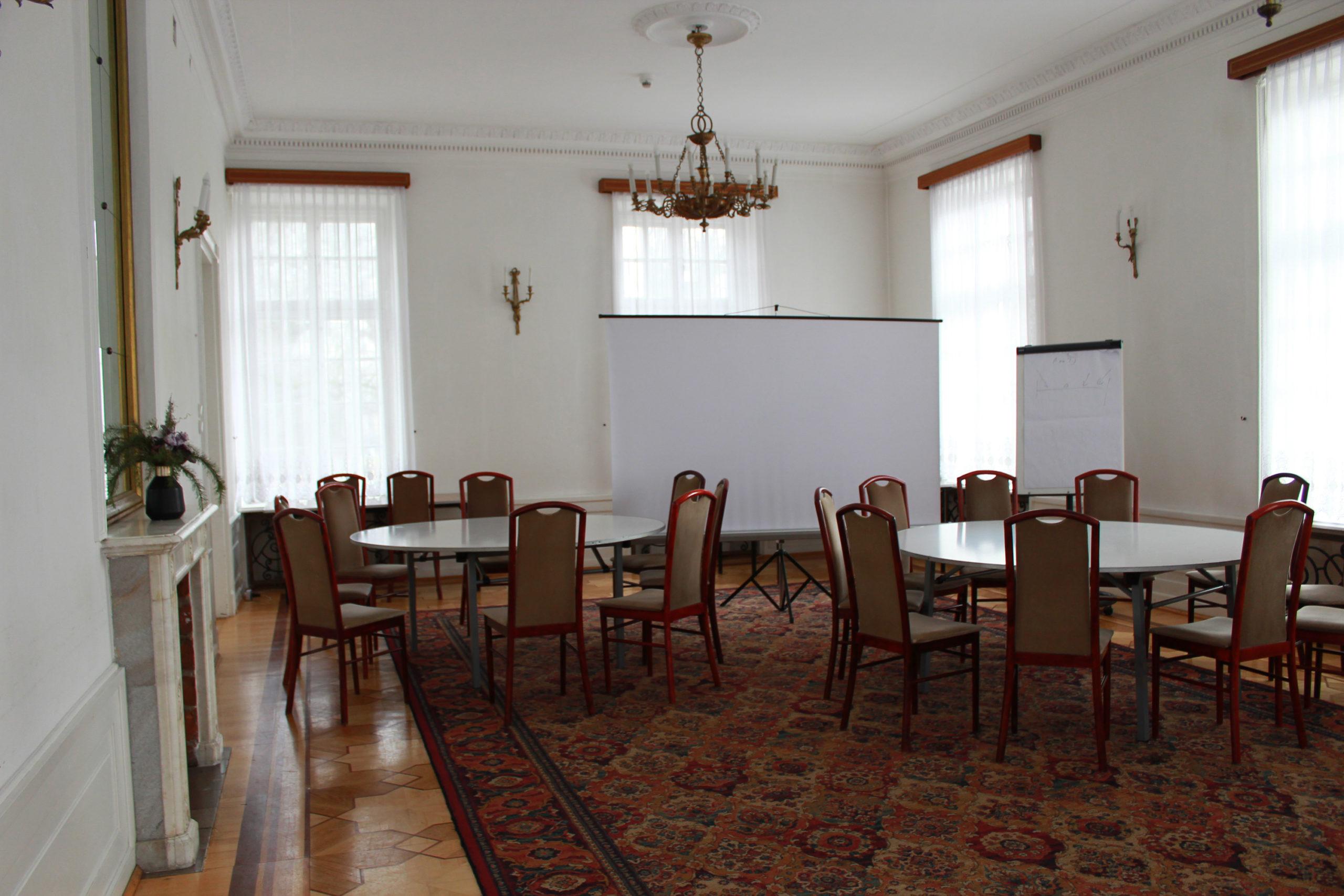sala konferencyjna w Jabłonnie