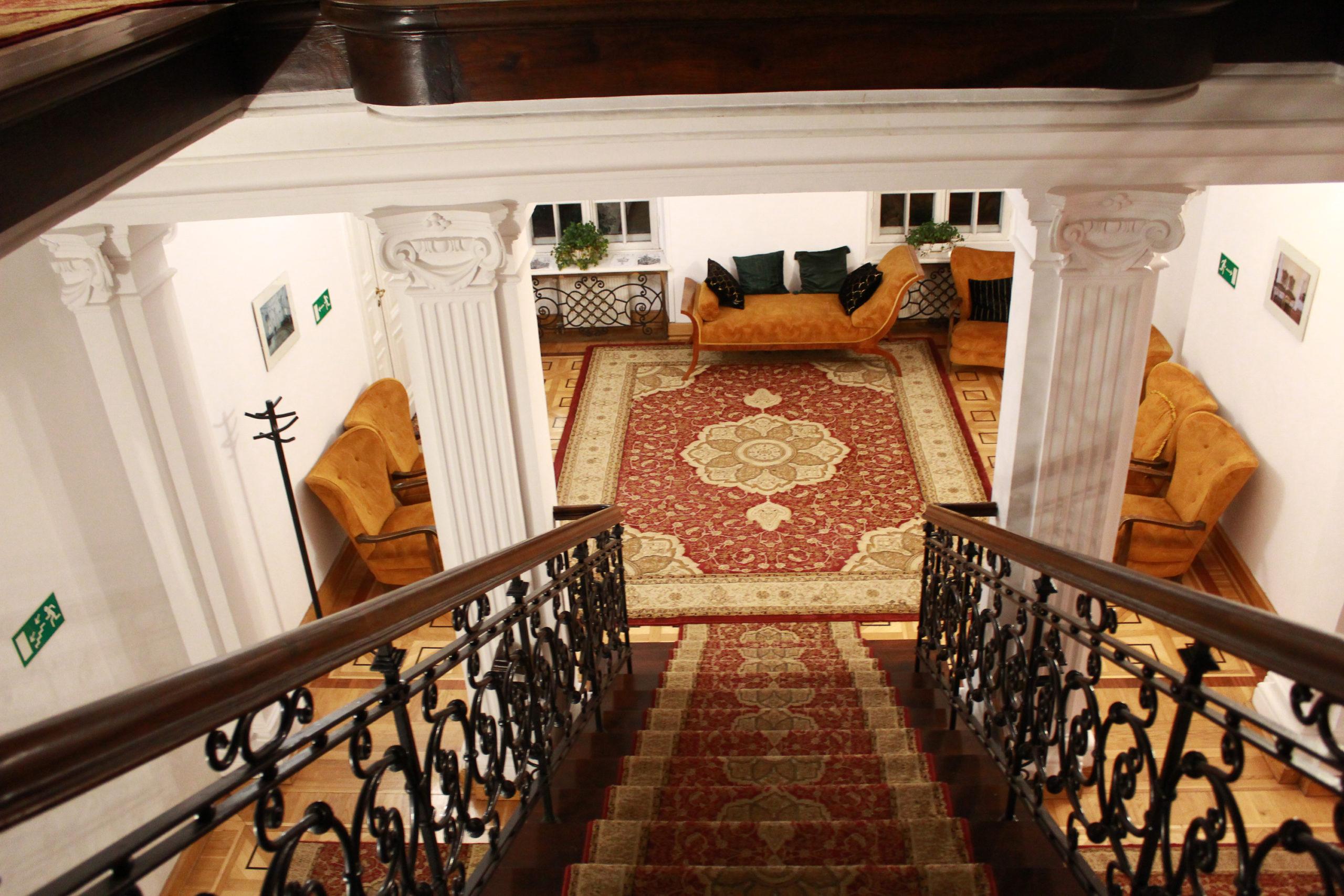 schody w pałacu